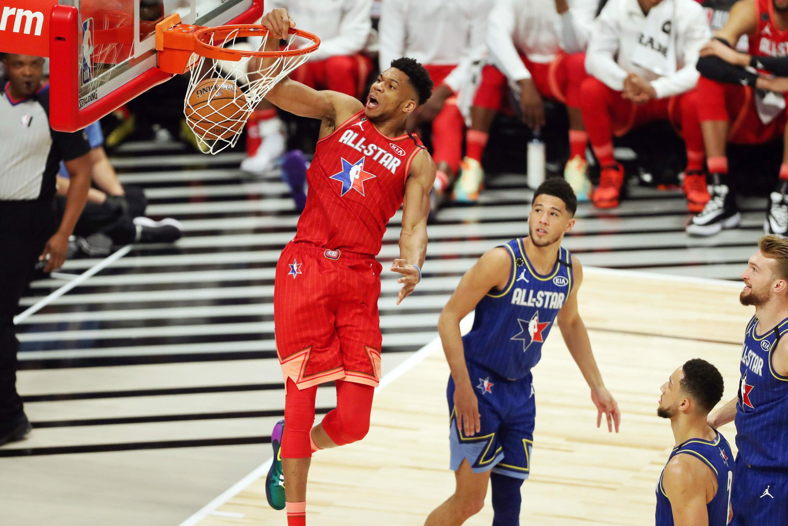 NBA All Star: Χάνει την πρωτιά ο Αντετοκούνμπο από τον Ντουράντ – Τα πρώτα αποτελέσματα (pic)