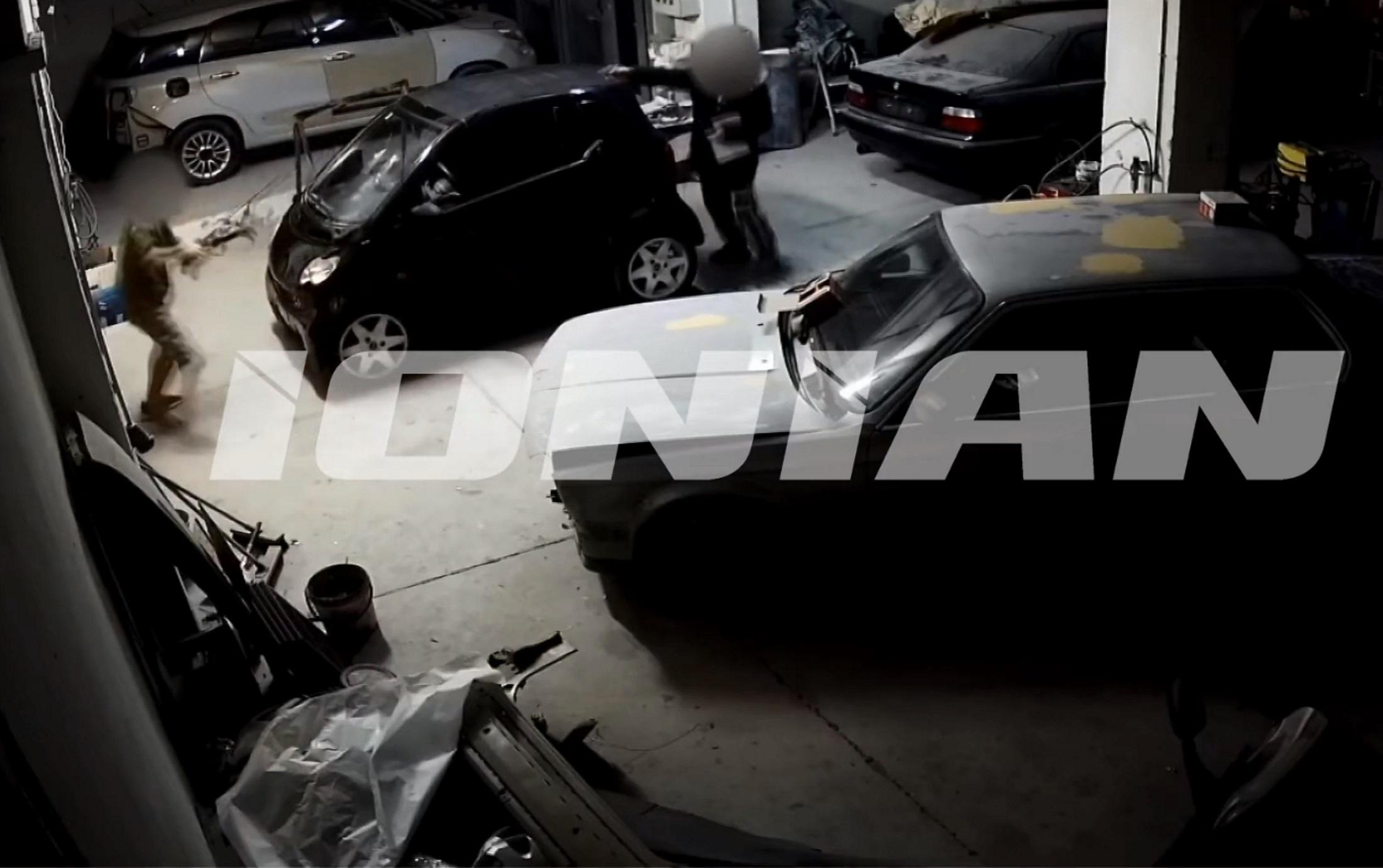 Πάτρα: Καρέ καρέ οι στιγμές πριν τη δολοφονία του 41χρονου στο φανοποιείο! Σοκαριστικό βίντεο