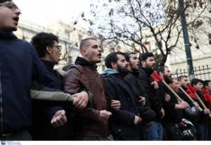 ΑΣΟΕΕ: Κλειστή η Πατησίων από συγκέντρωση διαμαρτυρίας
