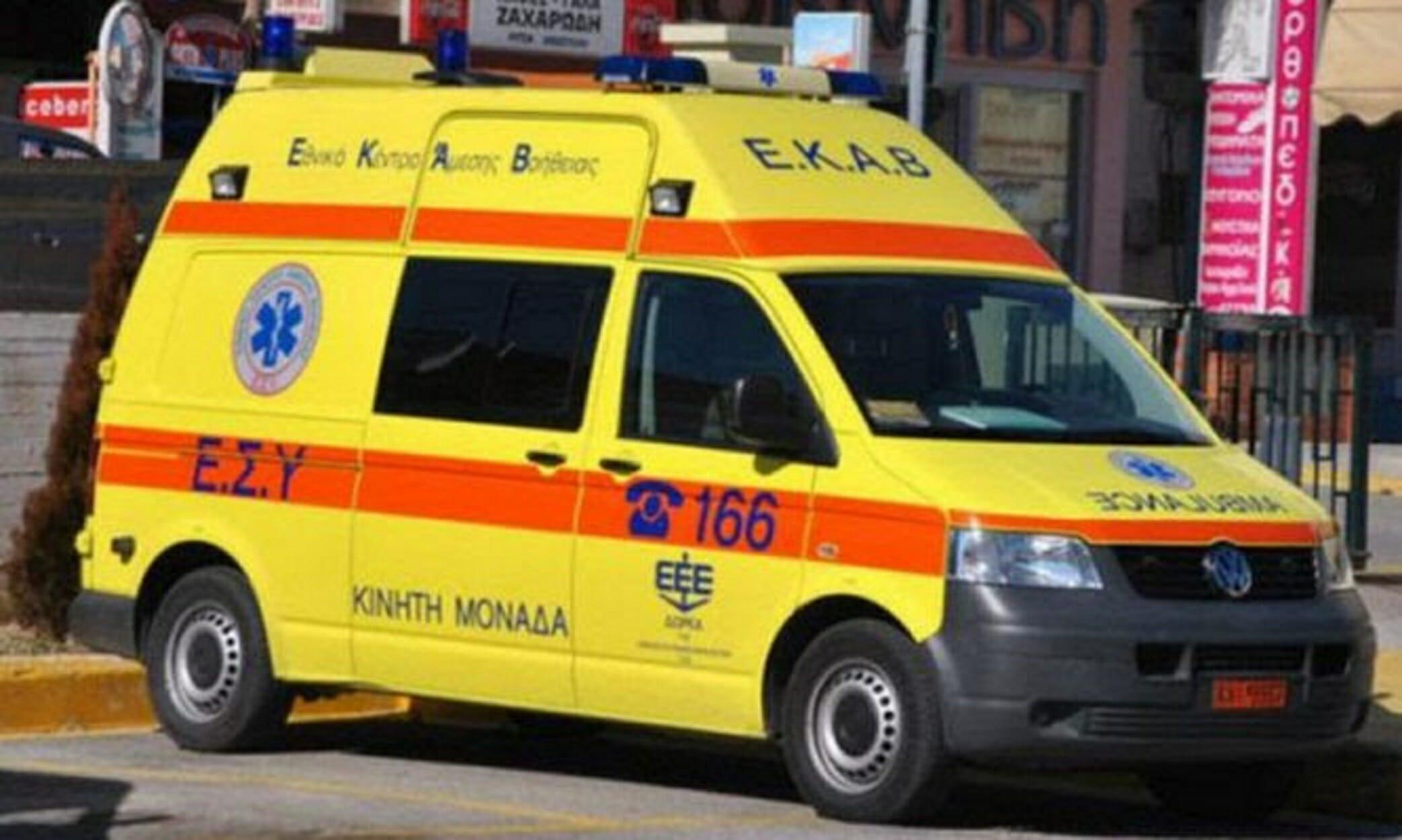 Λαμία: Τροχαίο με τρεις τραυματίες σε διασταύρωση! Στο νοσοκομείο παππούς και εγγονός