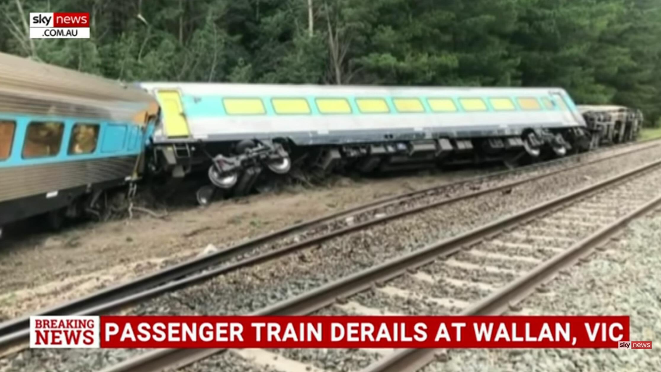 Αυστραλία: Δυο νεκροί σε εκτροχιασμό τρένου