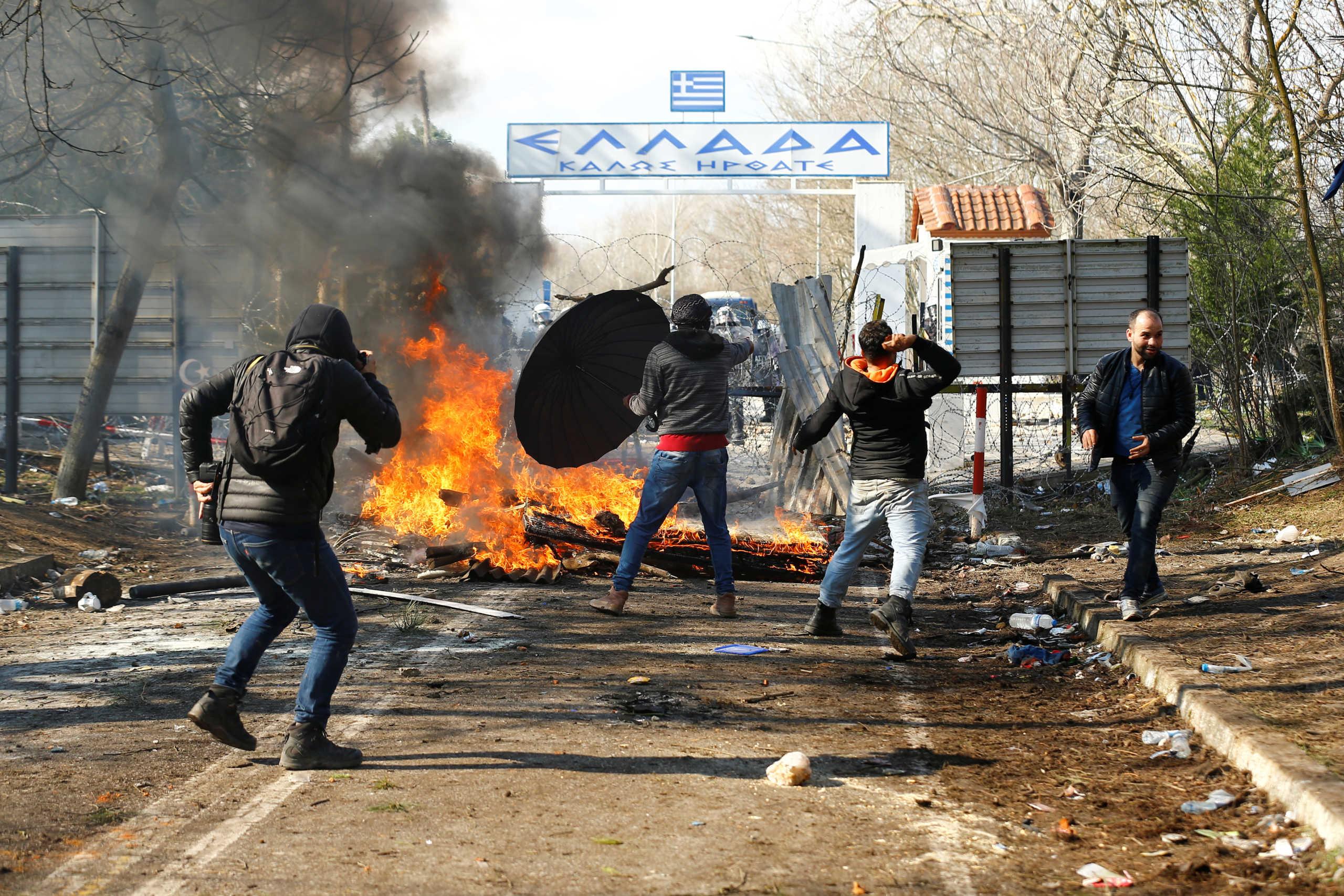 """Καστανιές: Οι Τούρκοι στέλνουν """"ποινικούς"""" στα σύνορα"""