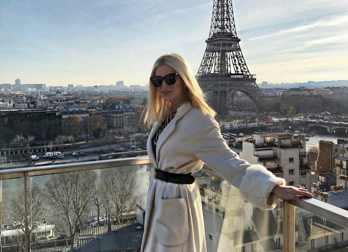 Kατερίνα Καινούργιου: Σαββατοκύριακο στο Παρίσι! Φωτογραφίες