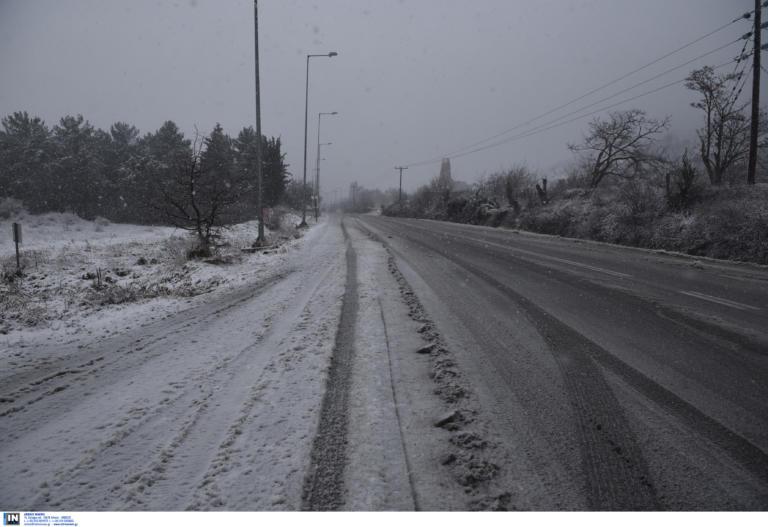 Καιρός σήμερα: Χειμωνιάτικο σκηνικό με χιόνια και αρκετό κρύο