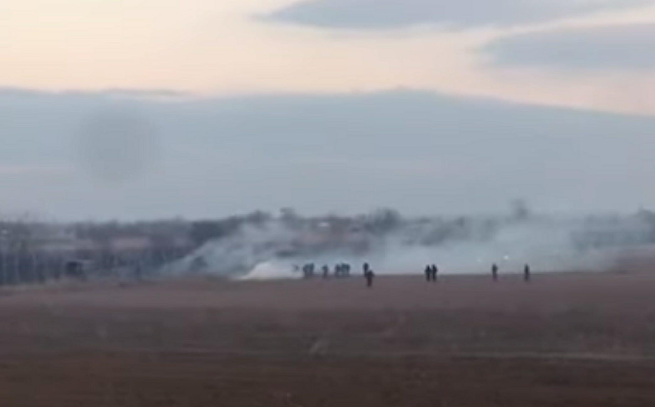 Καστανιές: Ομάδα ατόμων έκοψε το φράχτη για να μπει στο ελληνικό έδαφος