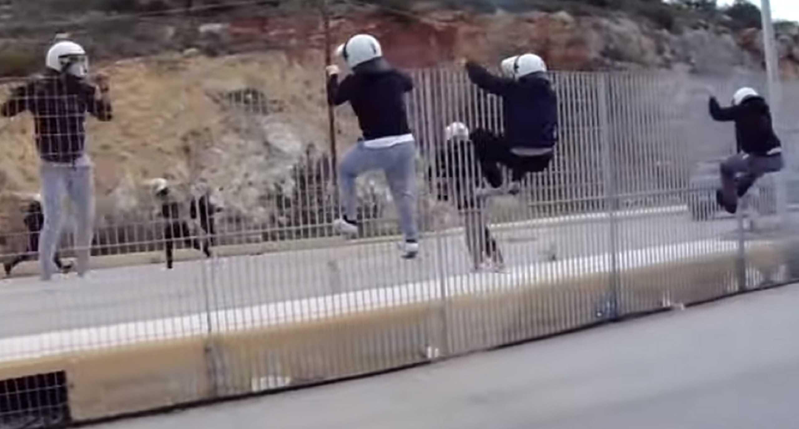 Αστυνομικοί τραμπούκισαν και... έφυγαν στο λιμάνι των Μεστών στη Χίο