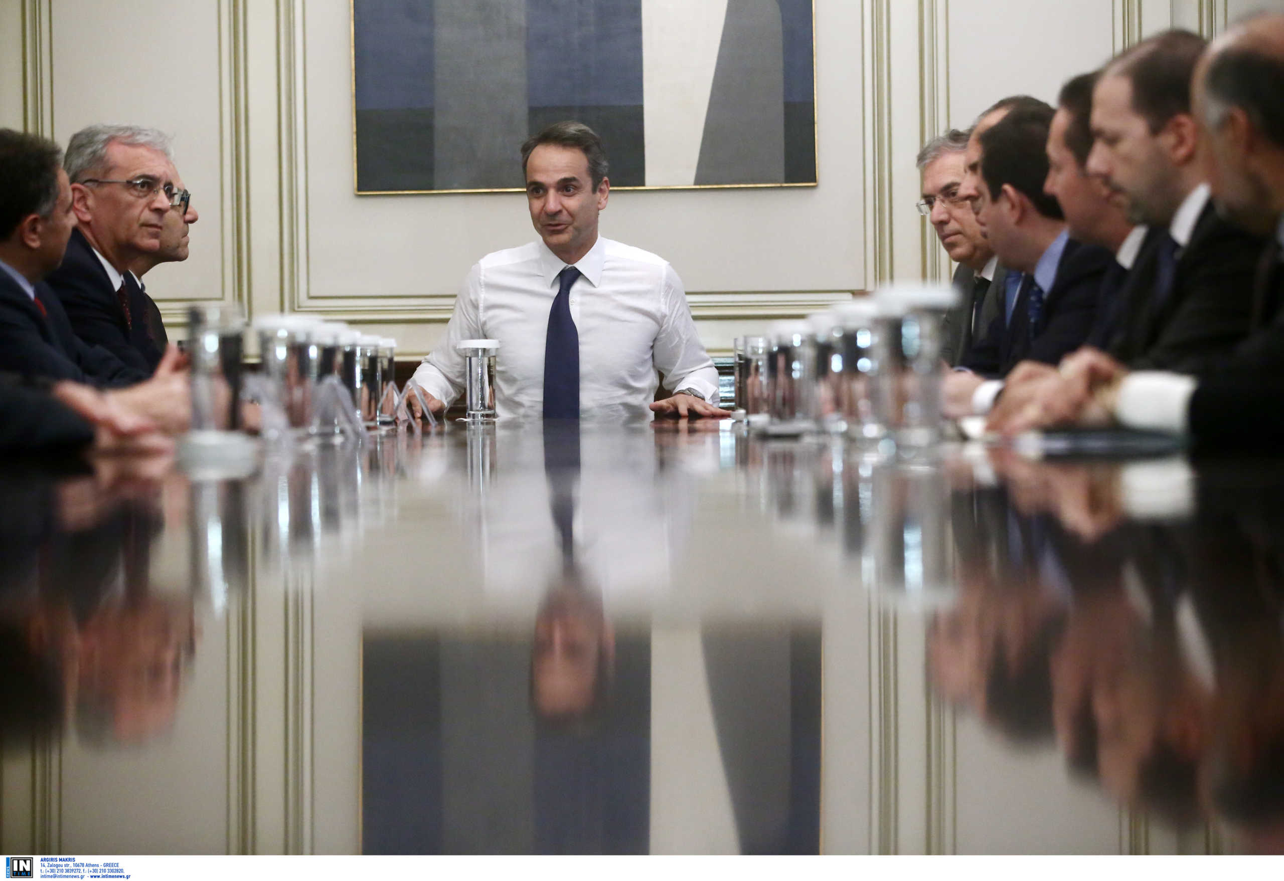 πρωθυπουργός - δήμαρχνοι Β. Αιγαίου