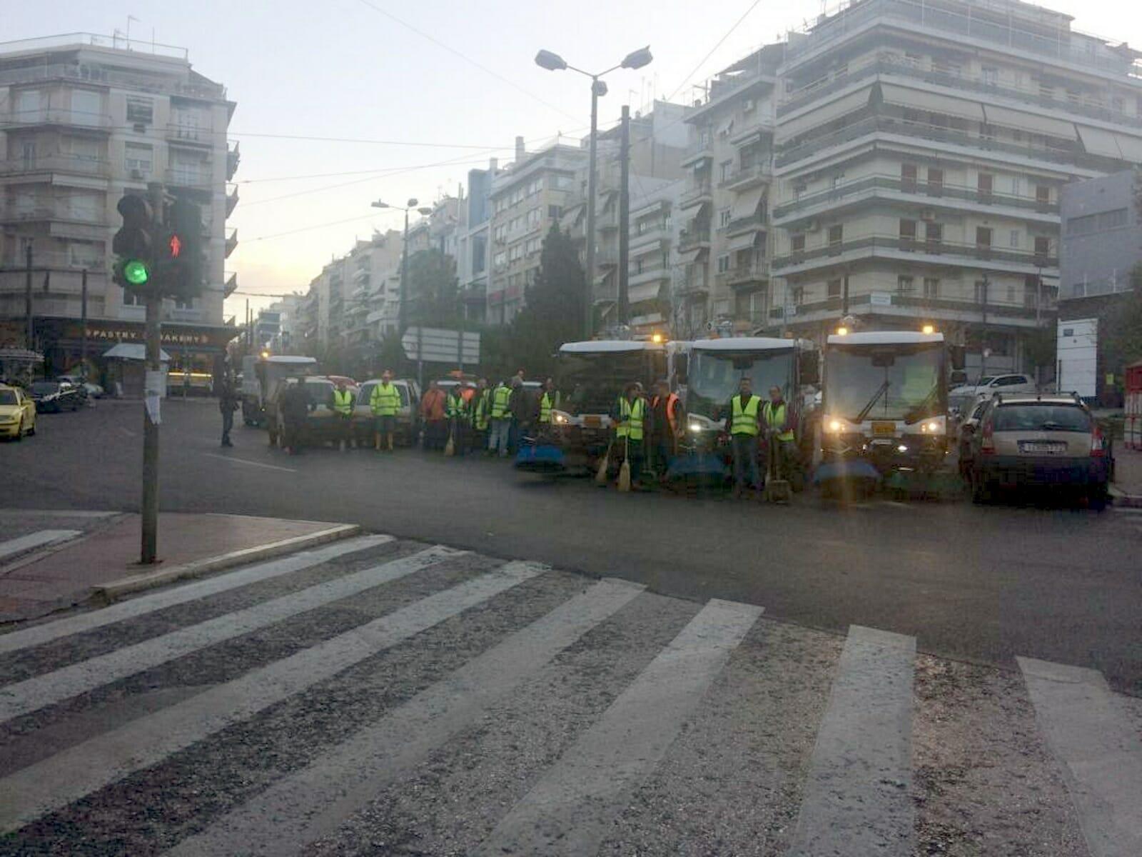 Δήμος Αθηναίων: Αυτοί οι δρόμοι καθαρίστηκαν στο Παγκράτι [Pics]