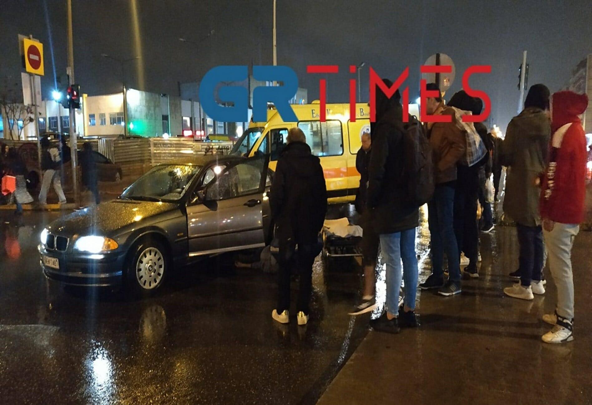 Θεσσαλονίκη: Σοβαρός τραυματισμός άνδρα που παρασύρθηκε από ΙΧ