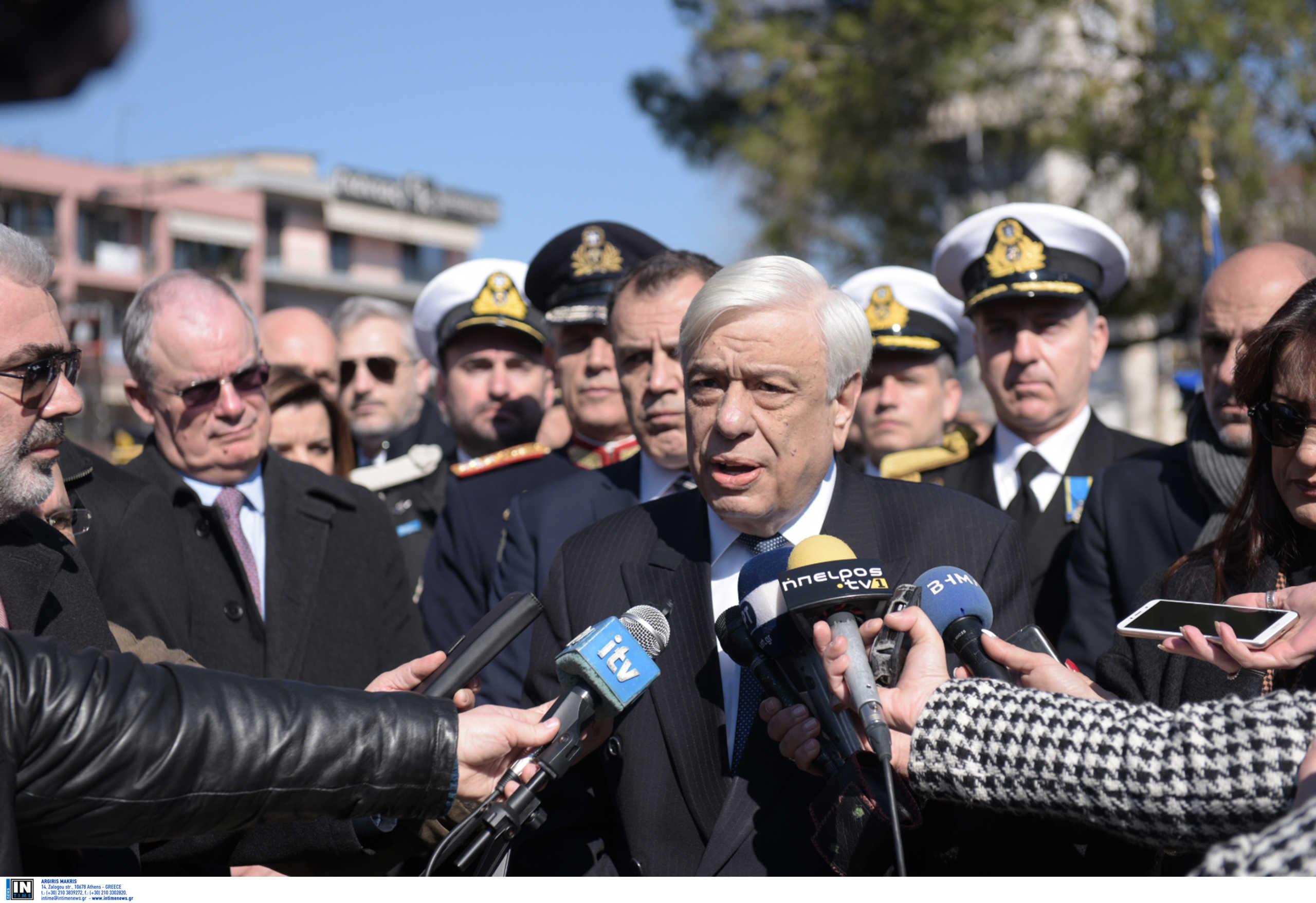 Παυλόπουλος: Καμία διαπραγμάτευση για το ψευτομνημόνιο Τουρκίας και Λιβύης