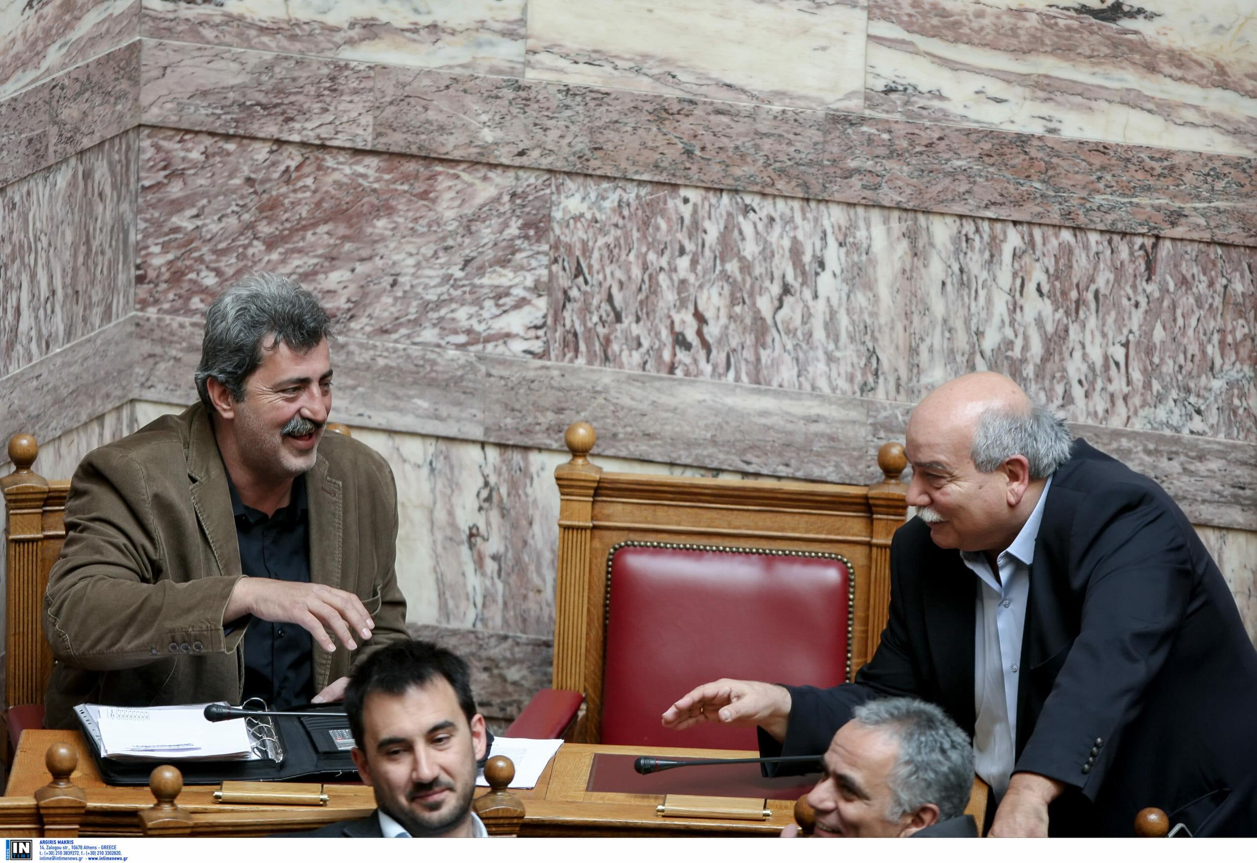 Ένταση μεταξύ Πολάκη και Βούτση στην ΚΕ του ΣΥΡΙΖΑ