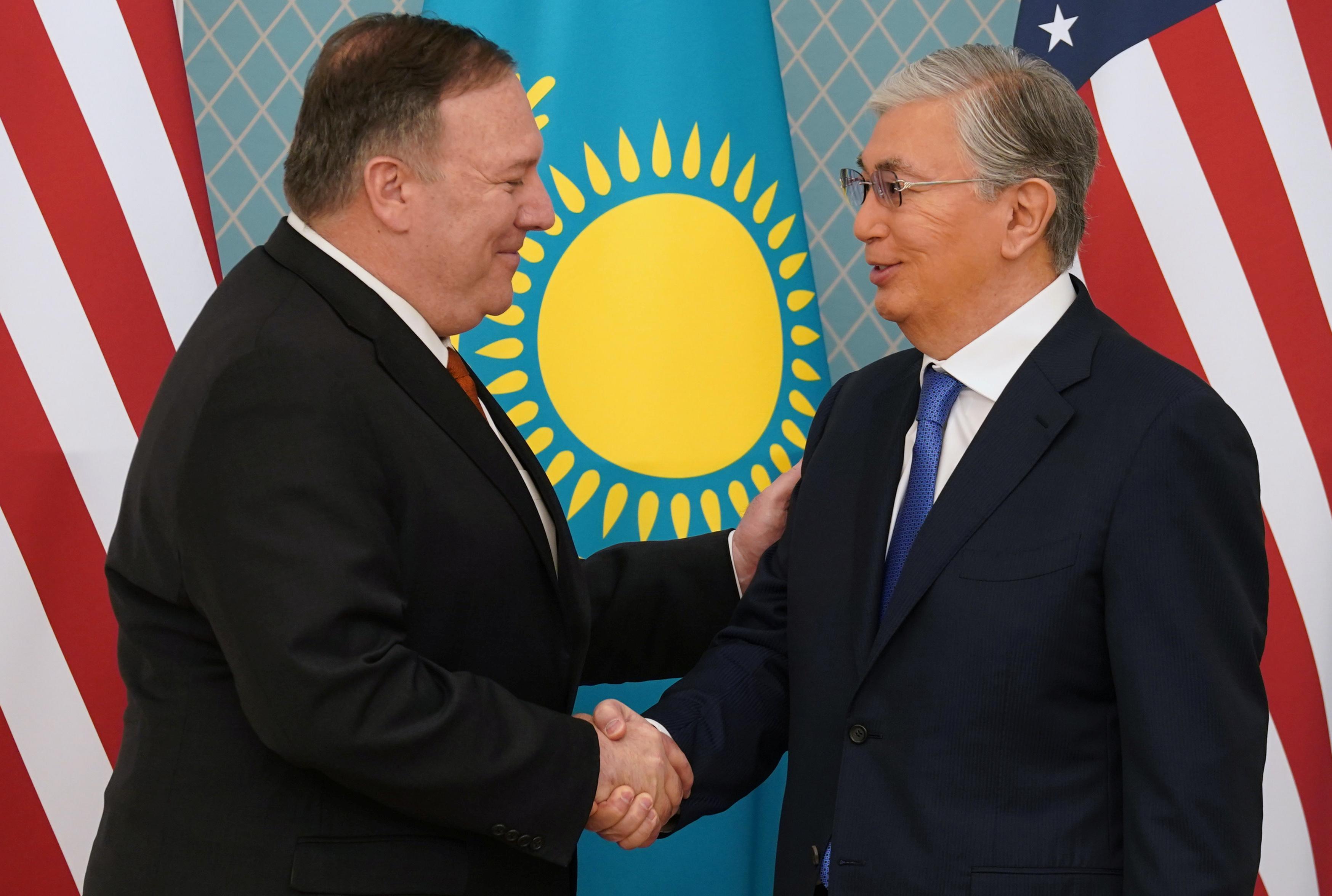 Περιοδεία στην κεντρική Ασία από Πομπέο! Πρώτος σταθμό το Καζακστάν