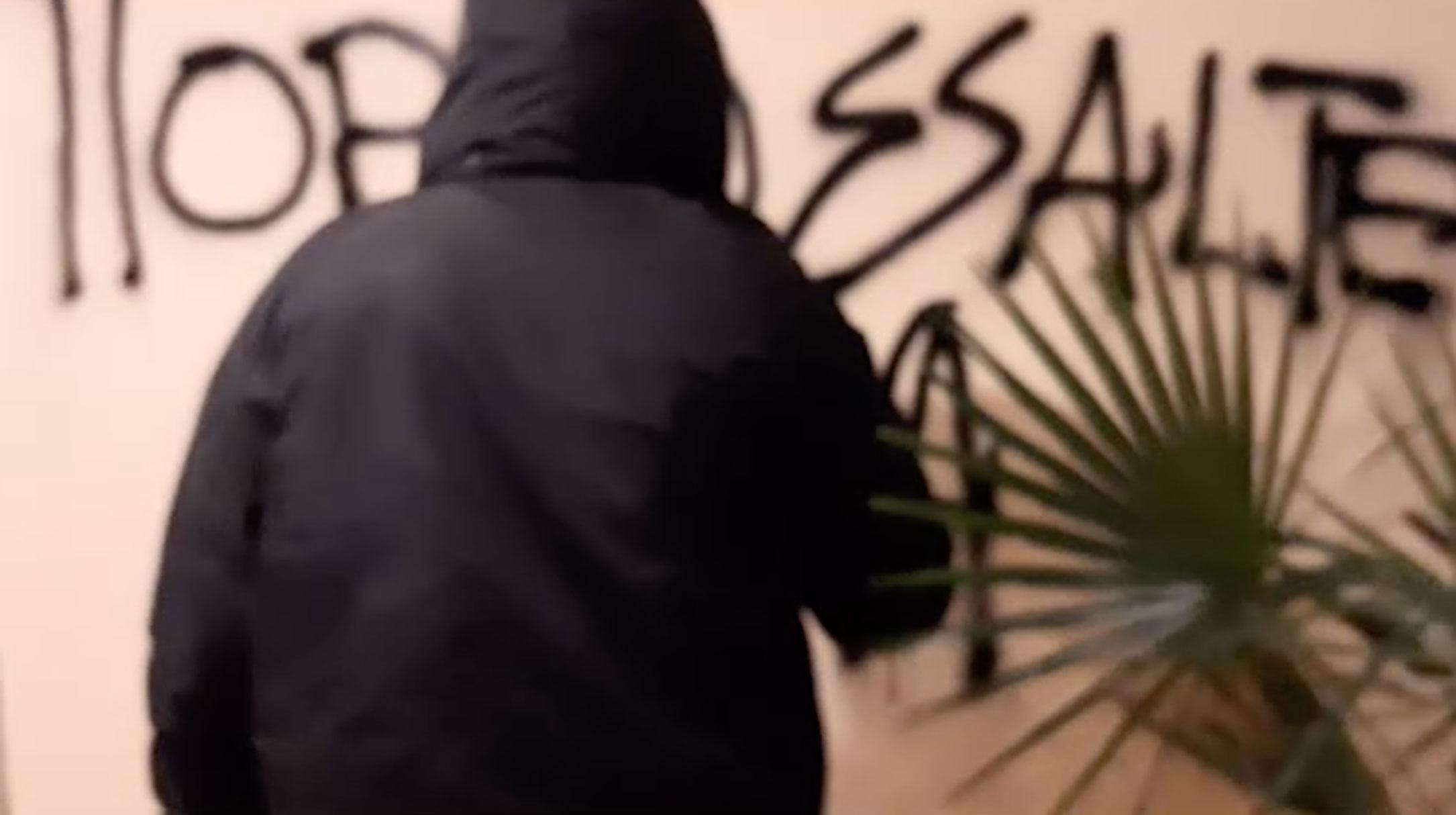 Πορτοσάλτε: Έτσι έφτασε ο Ρουβίκωνας στο σπίτι του [video]