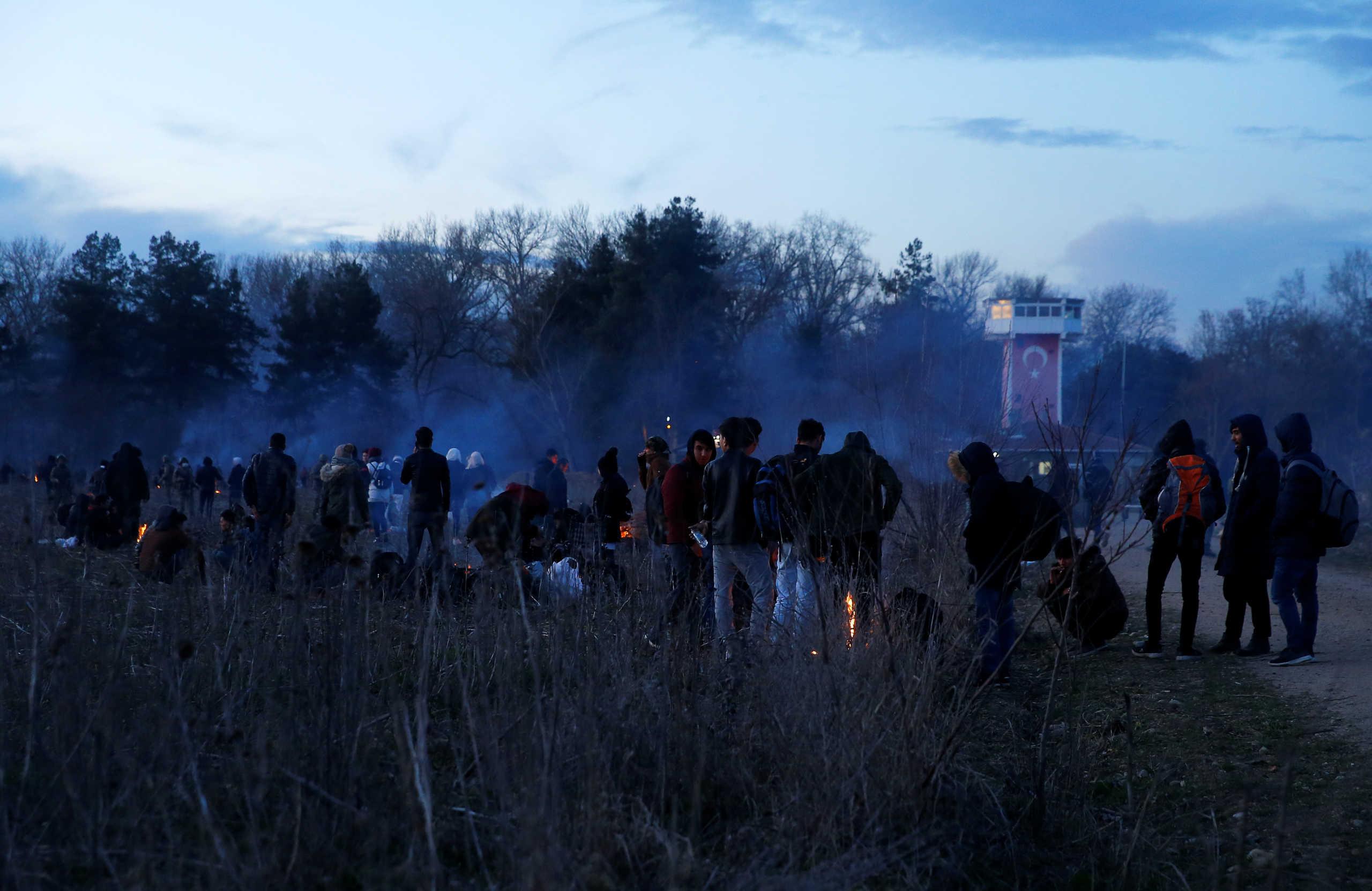Καστανιές: Πρόσφυγες επιχείρησαν και πάλι να περάσουν τα σύνορα! Έπεσαν δακρυγόνα