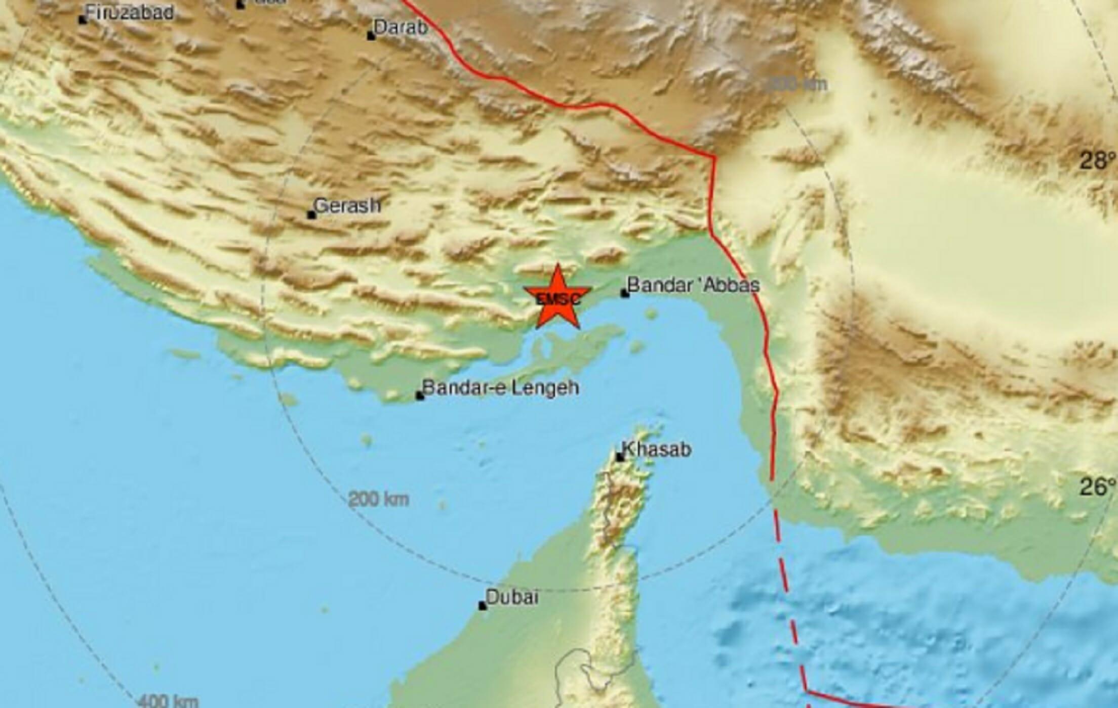 """Σεισμός 5,5 Ρίχτερ """"ταρακούνησε"""" το Ιράν"""