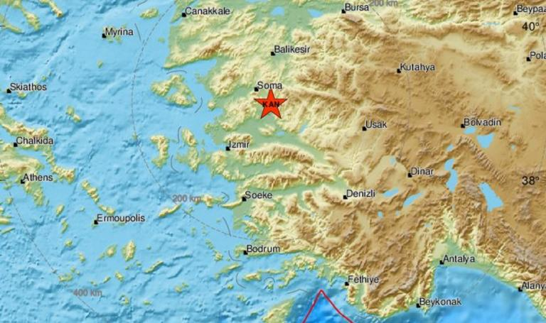 Ισχυρός σεισμός στην ανατολική Τουρκία! 4,5 Ρίχτερ η δόνηση!