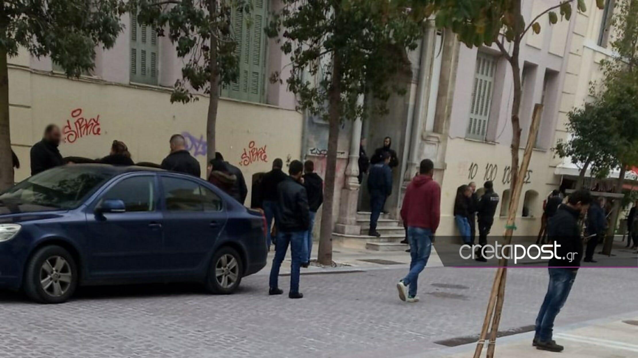 Ηράκλειο: Στο αυτόφωρο οι συλληφθέντες μεγάλης αστυνομικής επιχείρησης