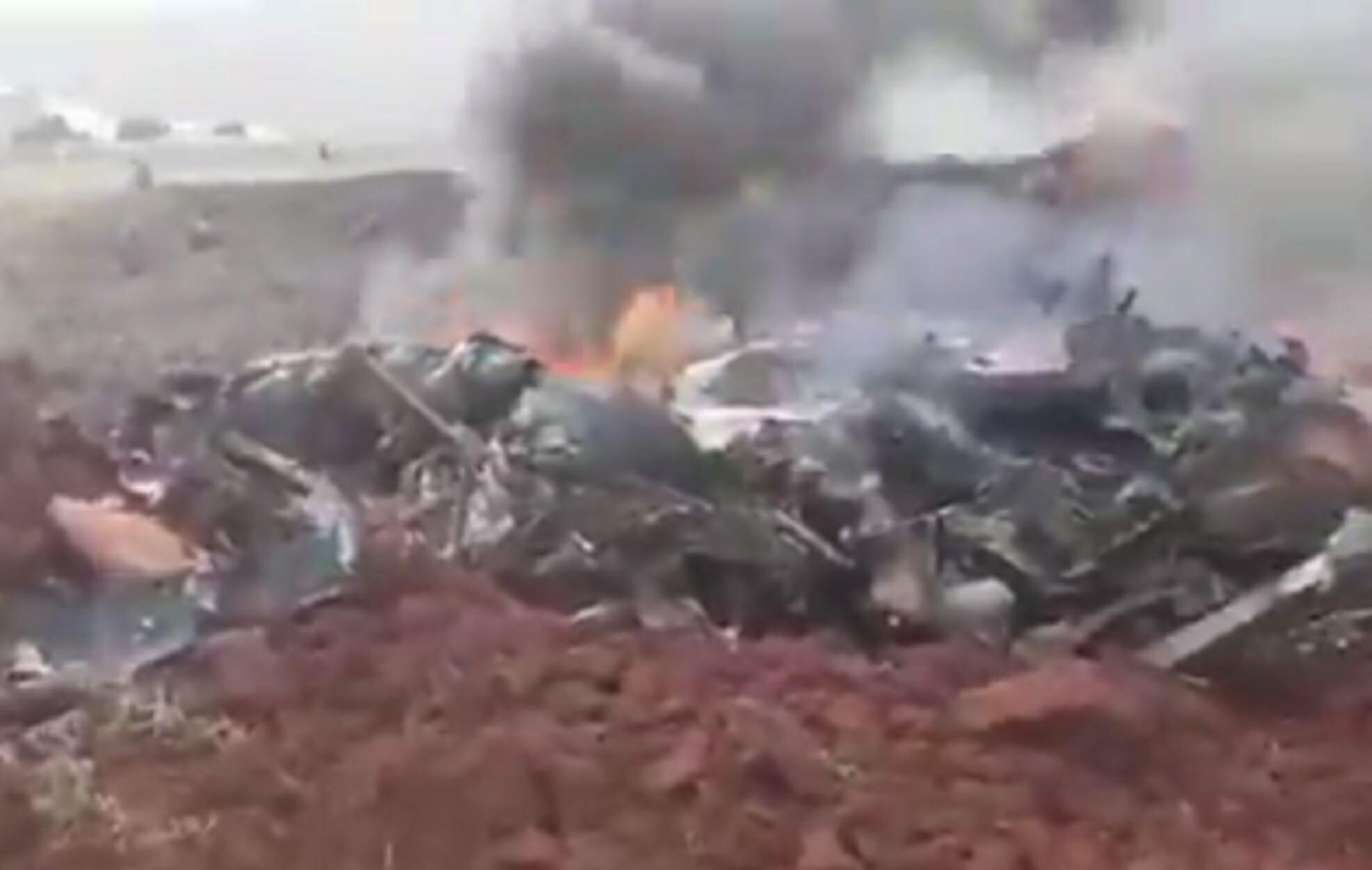 Συρία: Καταρρίφθηκε ελικόπτερο των κυβερνητικών δυνάμεων! Δείτε το βίντεο