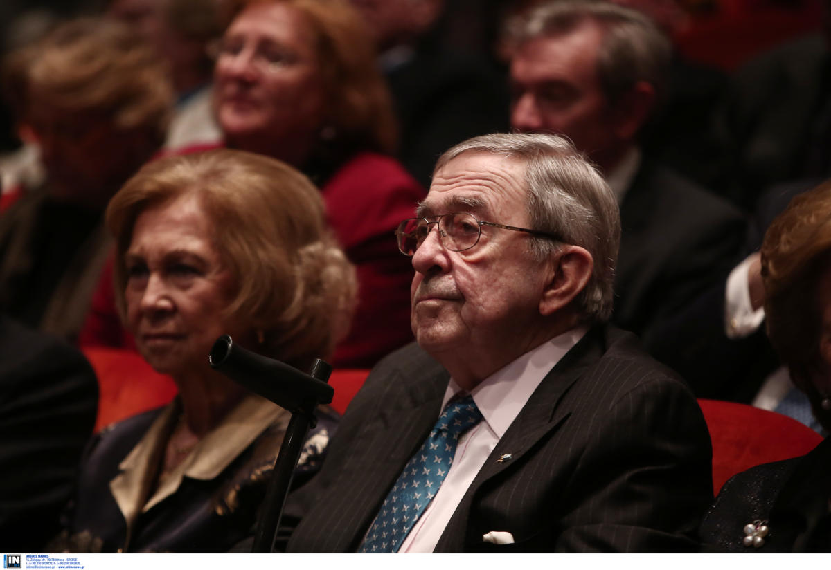 Κωνσταντίνος Γλύξμπουργκ: Στην Αθήνα με την επίτιμη Βασίλισσα της Ισπανίας, Σοφία! pics