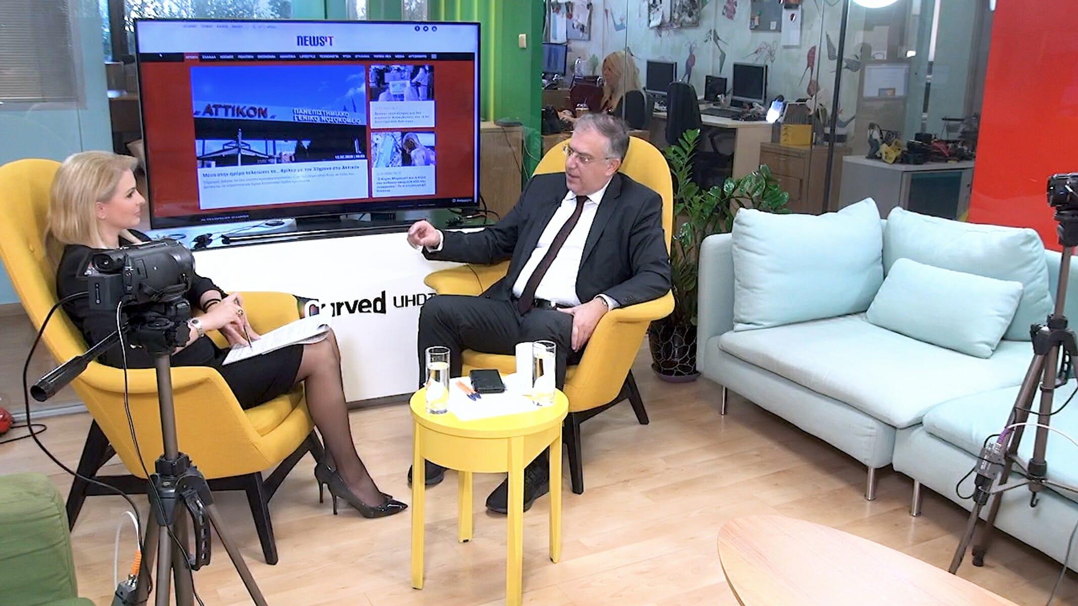 Τάκης Θεοδωρικάκος στο newsit.gr: Το έργο μας τους 7 μήνες διακυβέρνησης