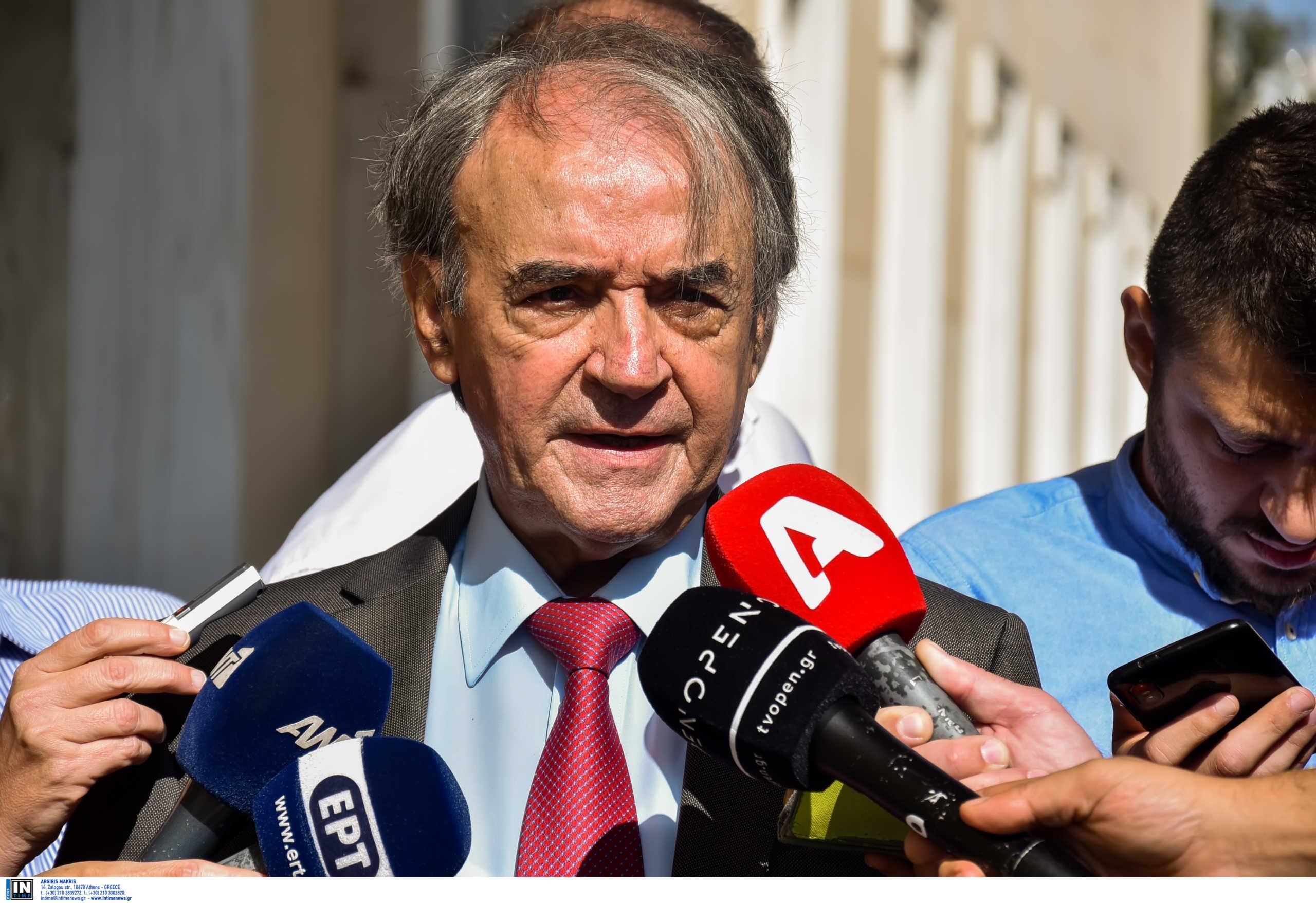Τσοβόλας: Πολιτική η δίωξη σε βάρος του Δημήτρη Παπαγγελόπουλου