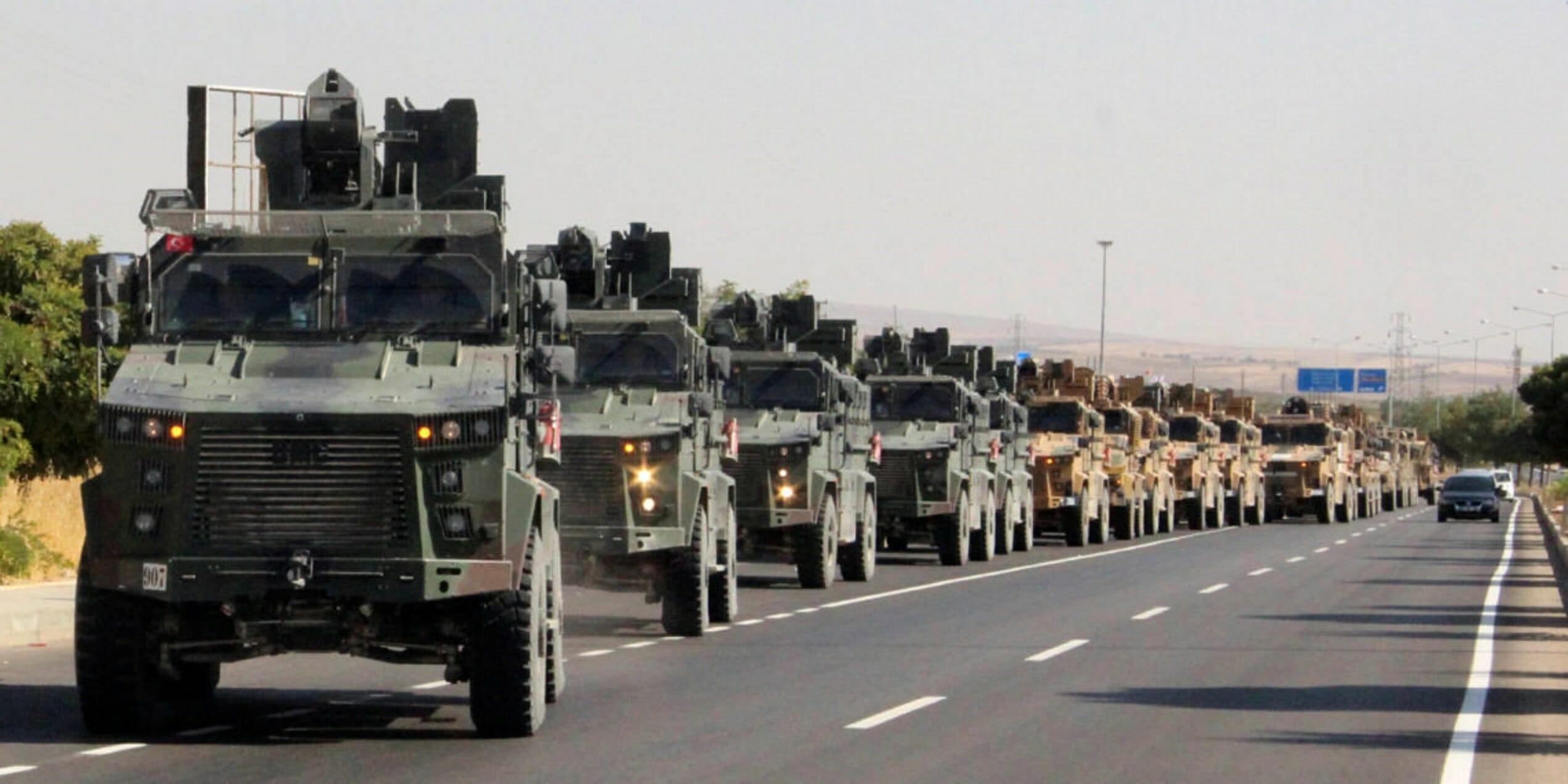 Ιντλίμπ - τουρκικά στρατεύματα