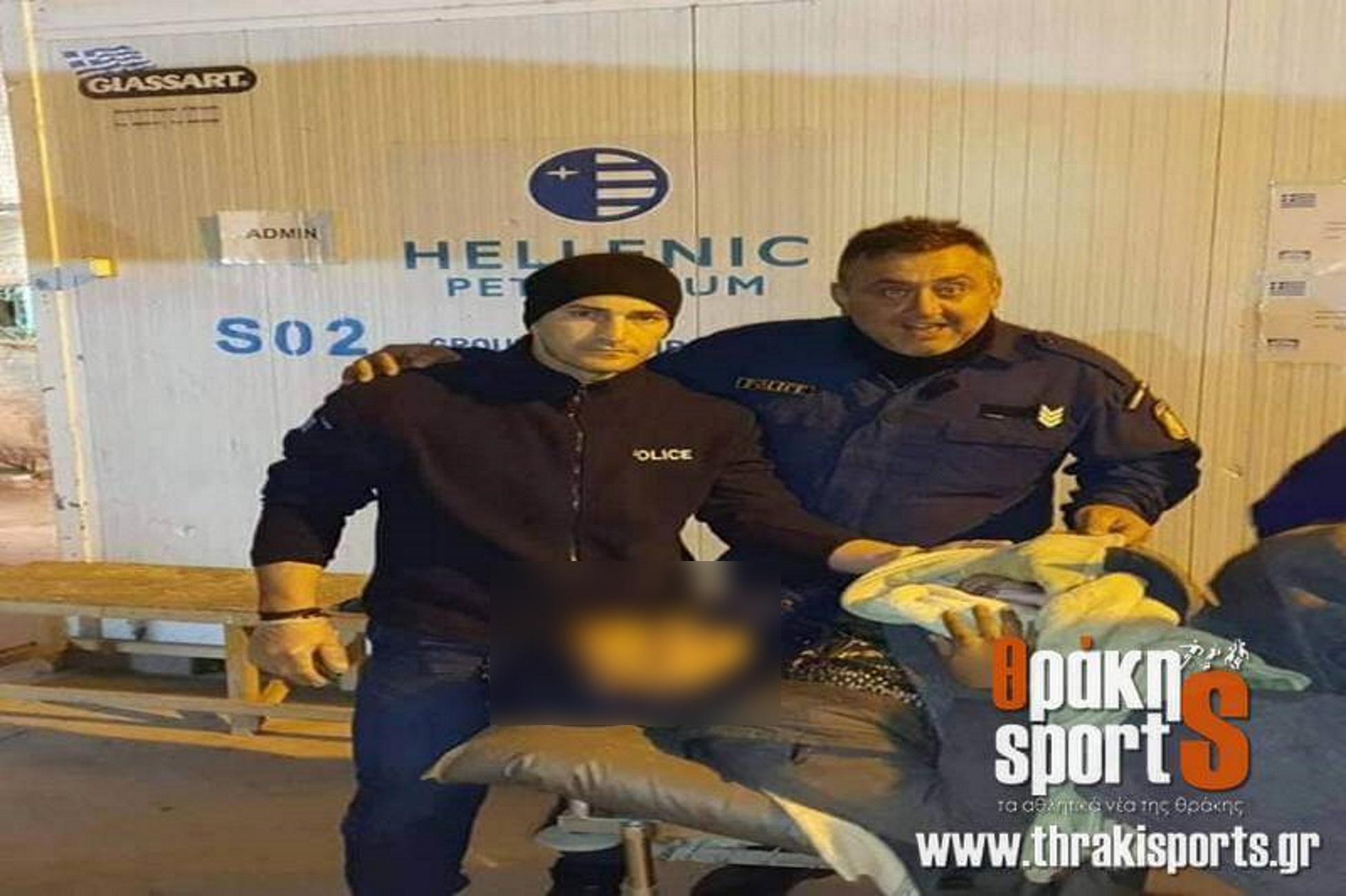 Χίος: Ο αστυνομικός που έγινε ήρωας για δεύτερη φορά! Ξεγέννησε γυναίκα όπως είχε δει σε κινηματογραφική ταινία[photos]