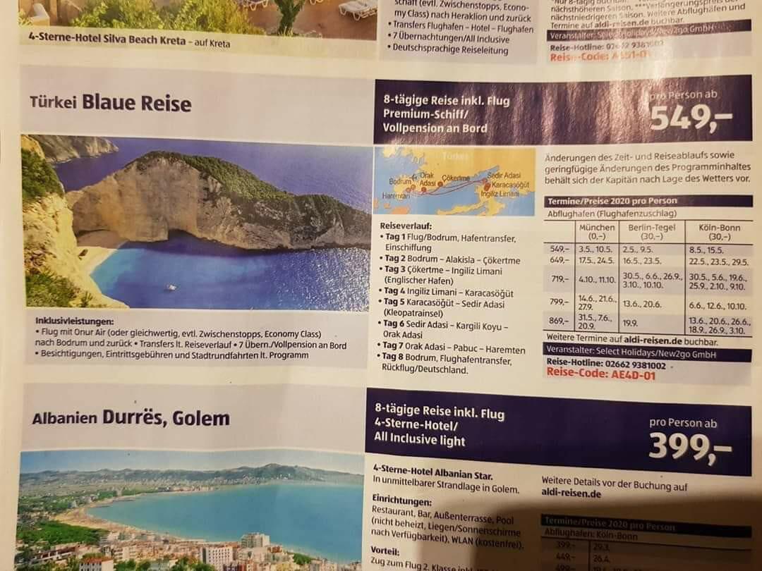 """Ζάκυνθος: """"Συγγνώμη λάθος""""! Κατέβασε τη φωτογραφία του Ναυαγίου το γερμανικό ταξιδιωτικό γραφείο που διαφημίζει την Τουρκία"""