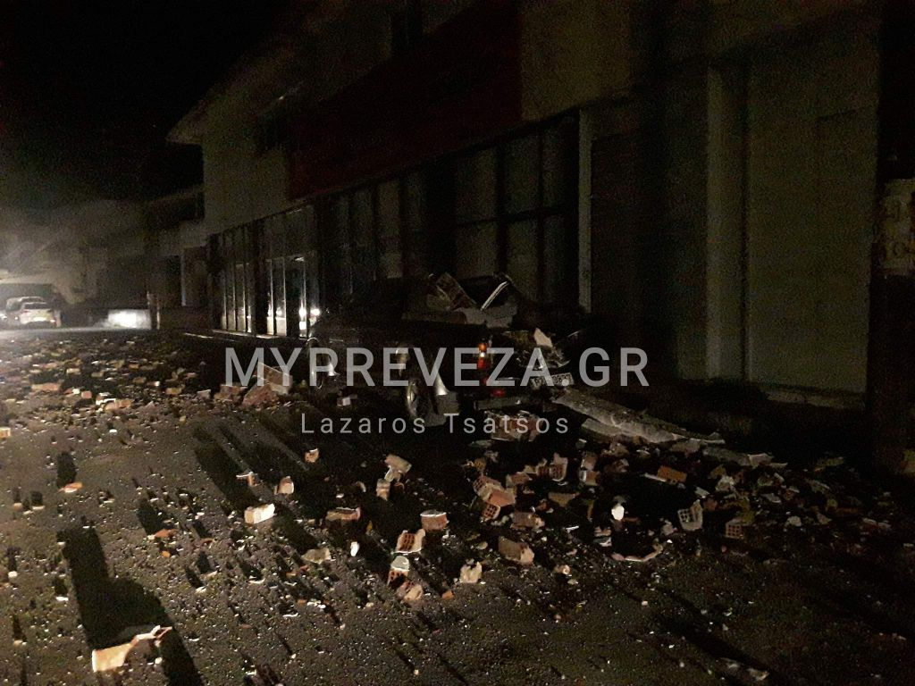 Ισχυρός σεισμός τα ξημερώματα στην Πάργα! Γκρεμίστηκαν σπίτια....