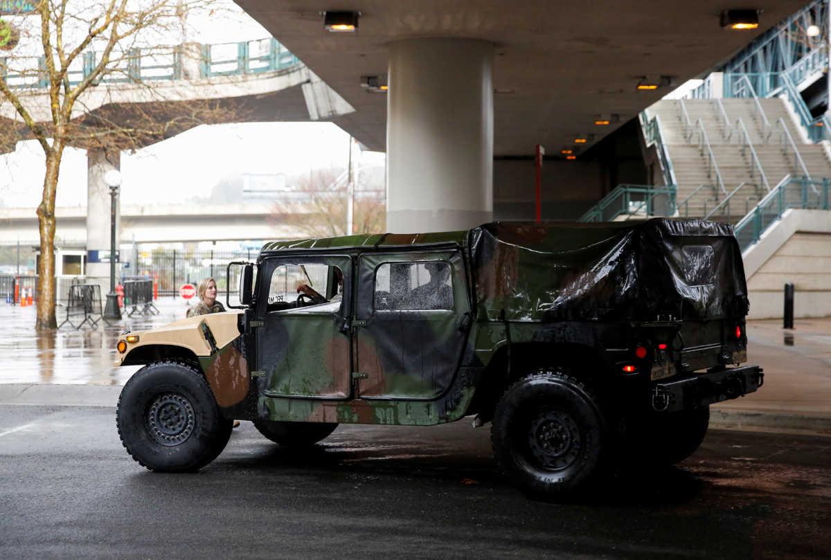 ΗΠΑ: Ο στρατός θα κατασκευάσει εκατοντάδες προσωρινά νοσοκομεία για τον κορονοϊό (pics)