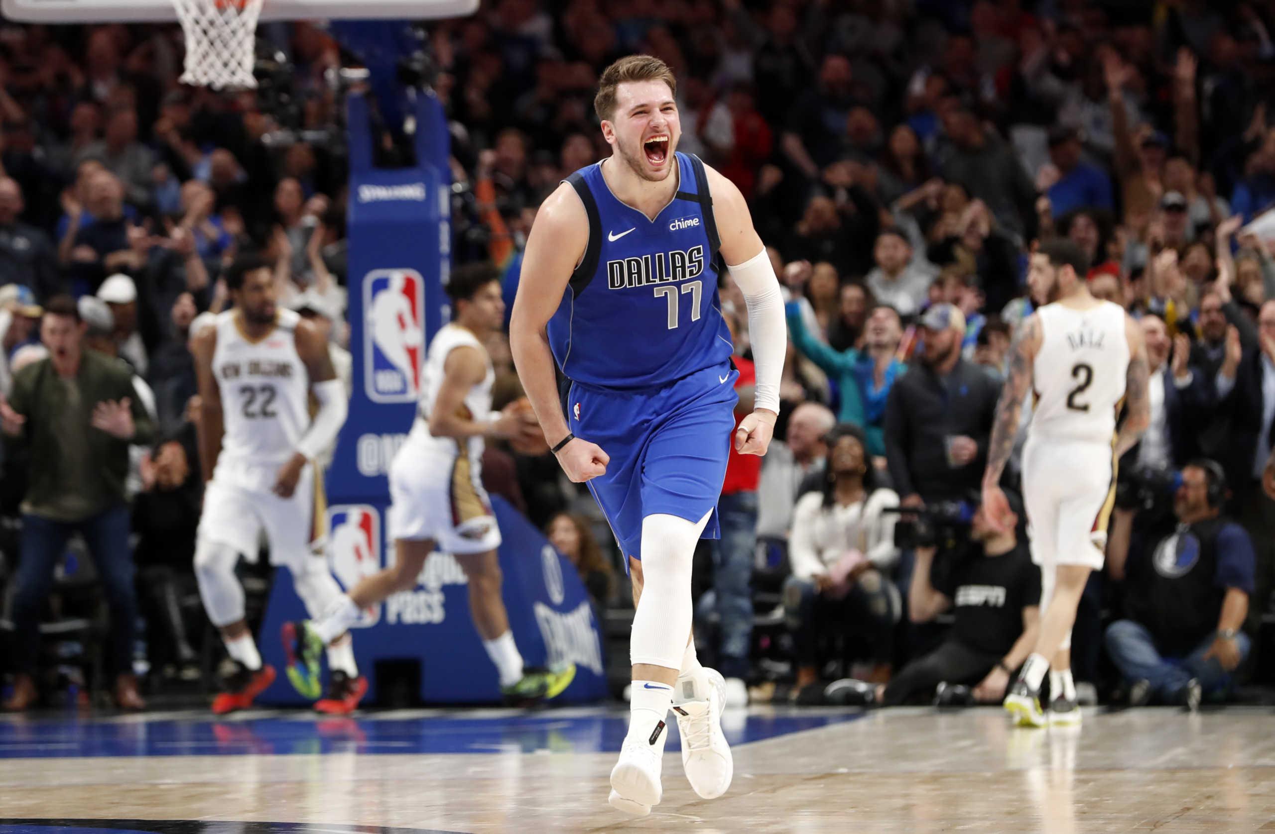 """""""Έσπασε"""" τα κοντέρ ο Ντόνσιτς! Ιστορικό ρεκόρ στα play off του NBA (vid, pics)"""