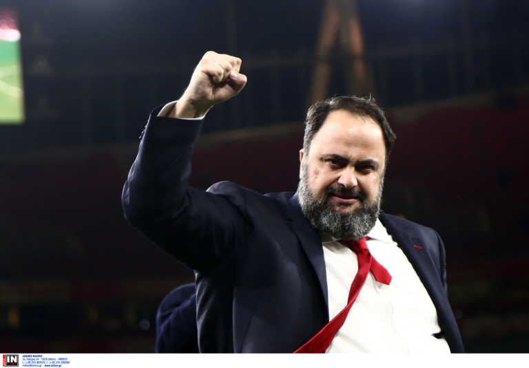 """Μαρινάκης: """"Ο Ολυμπιακός ανήκει στην ελίτ της Ευρώπης"""" (pic)"""