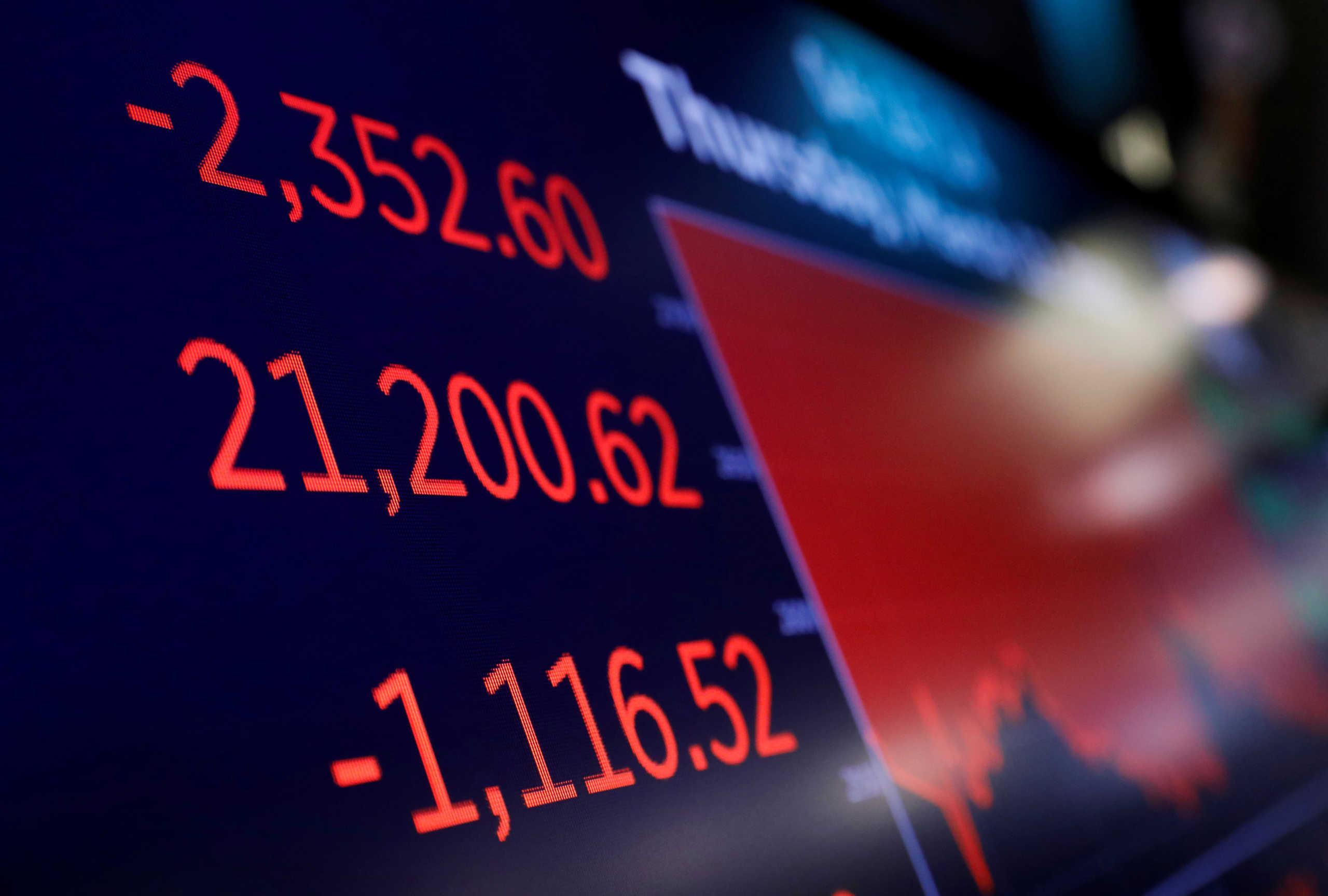 Ο φόβος του κορονοϊού και της ύφεσης πληγώνει και τρομάζει την διεθνή οικονομία