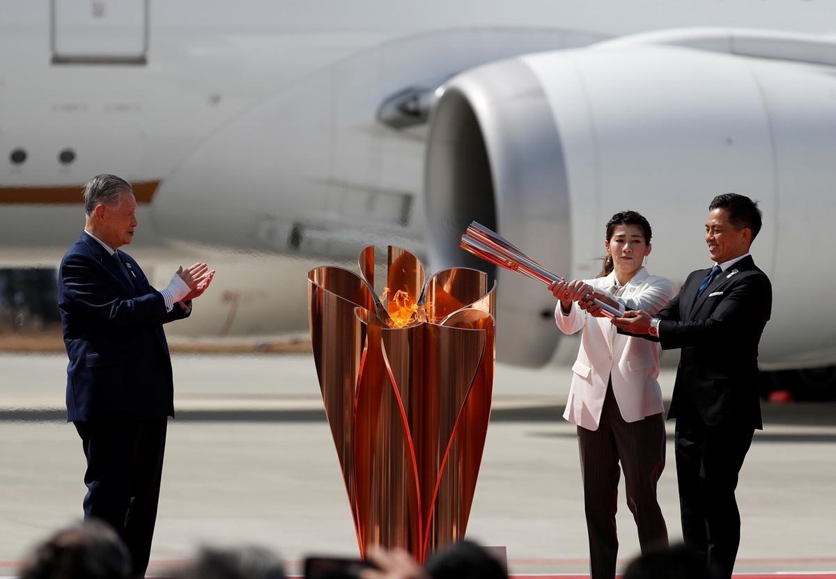 Στην Ιαπωνία η Ολυμπιακή Φλόγα