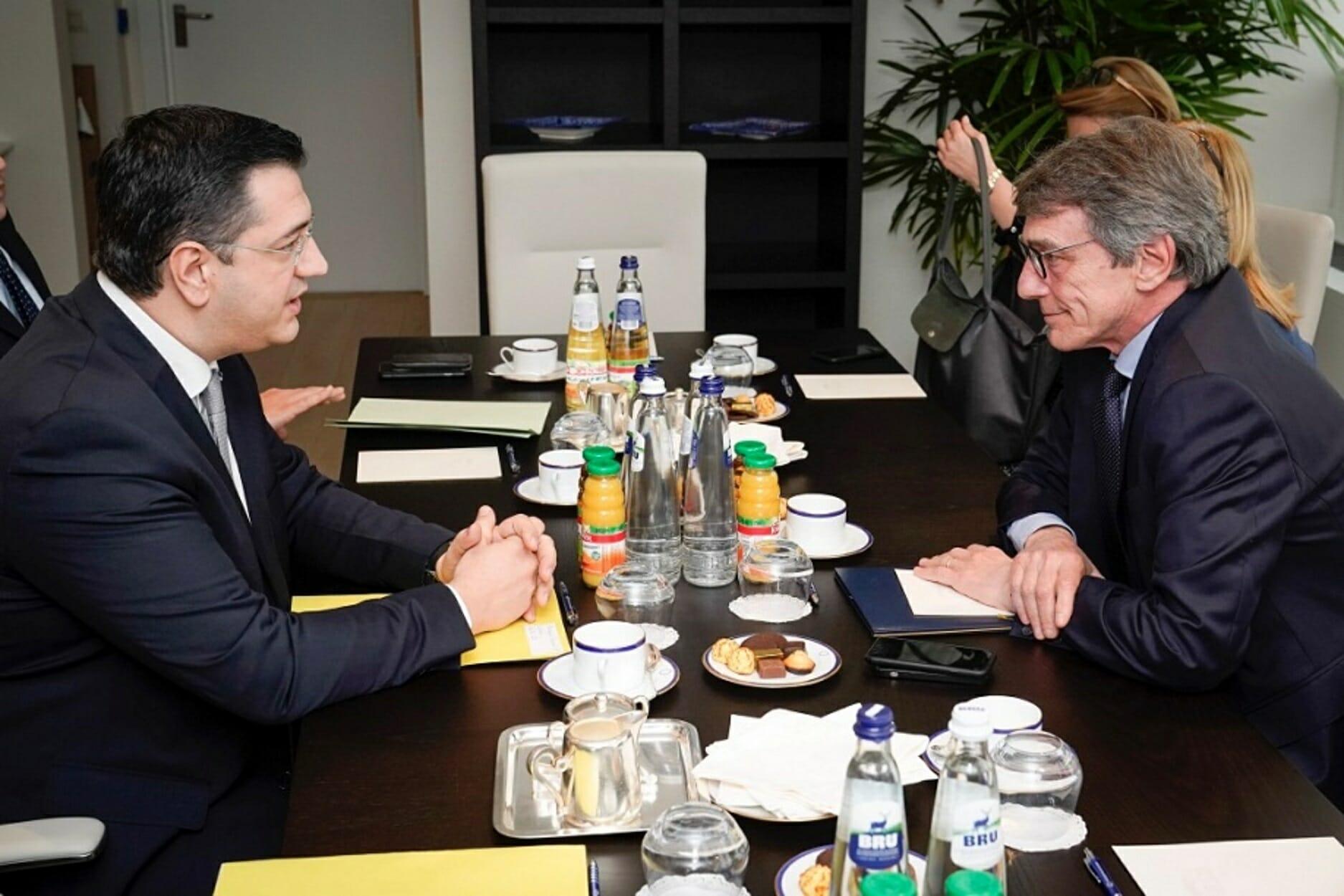Βρυξέλλες: Τα γεγονότα στα σύνορα εξέθεσε ο Τζιτζικώστας στον πρόεδρο της Ευρωβουλής
