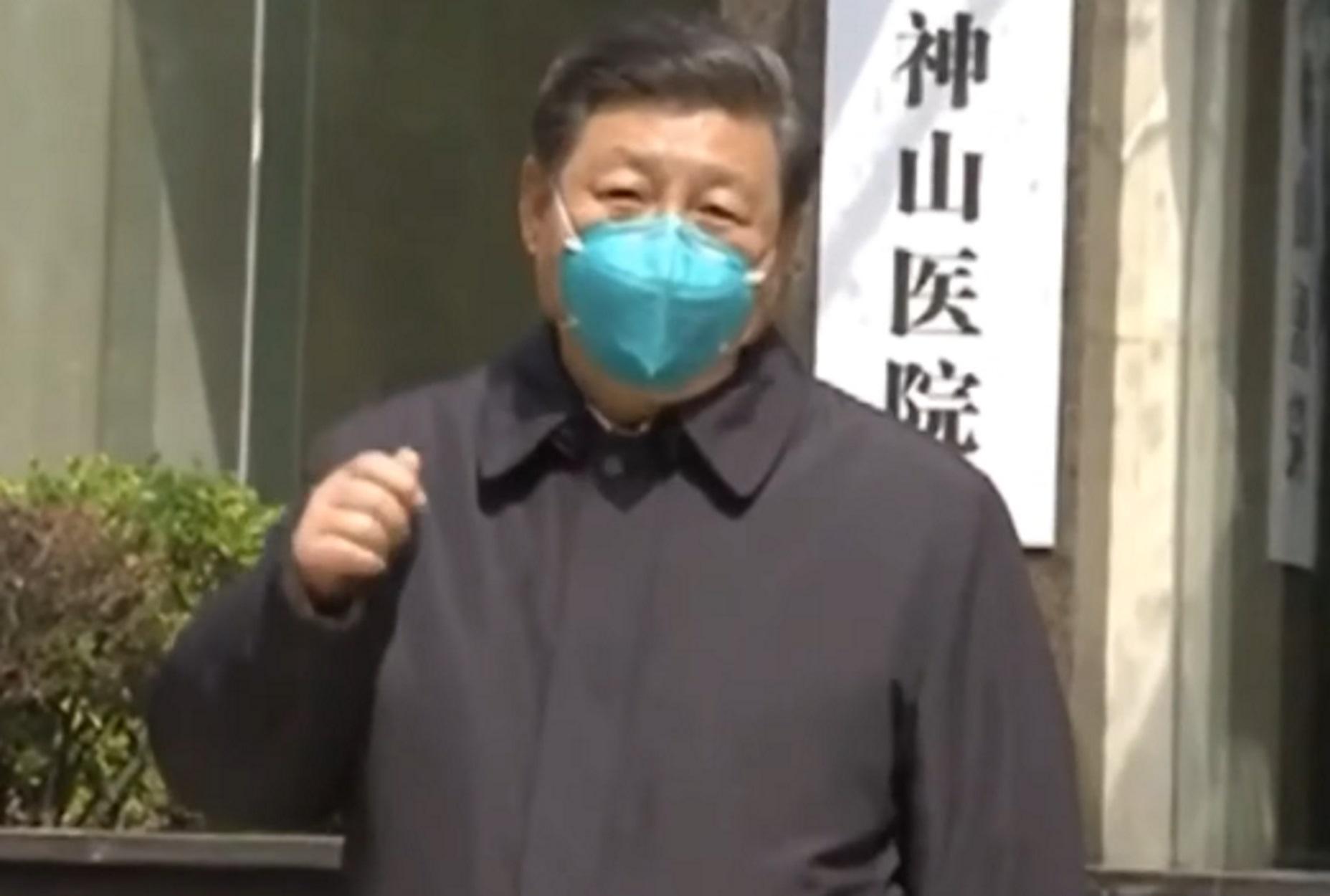 Κορονοϊός: Με μάσκα στην αποκλεισμένη Γουχάν για 1η φορά ο Σι Τζινπίνγκ! video