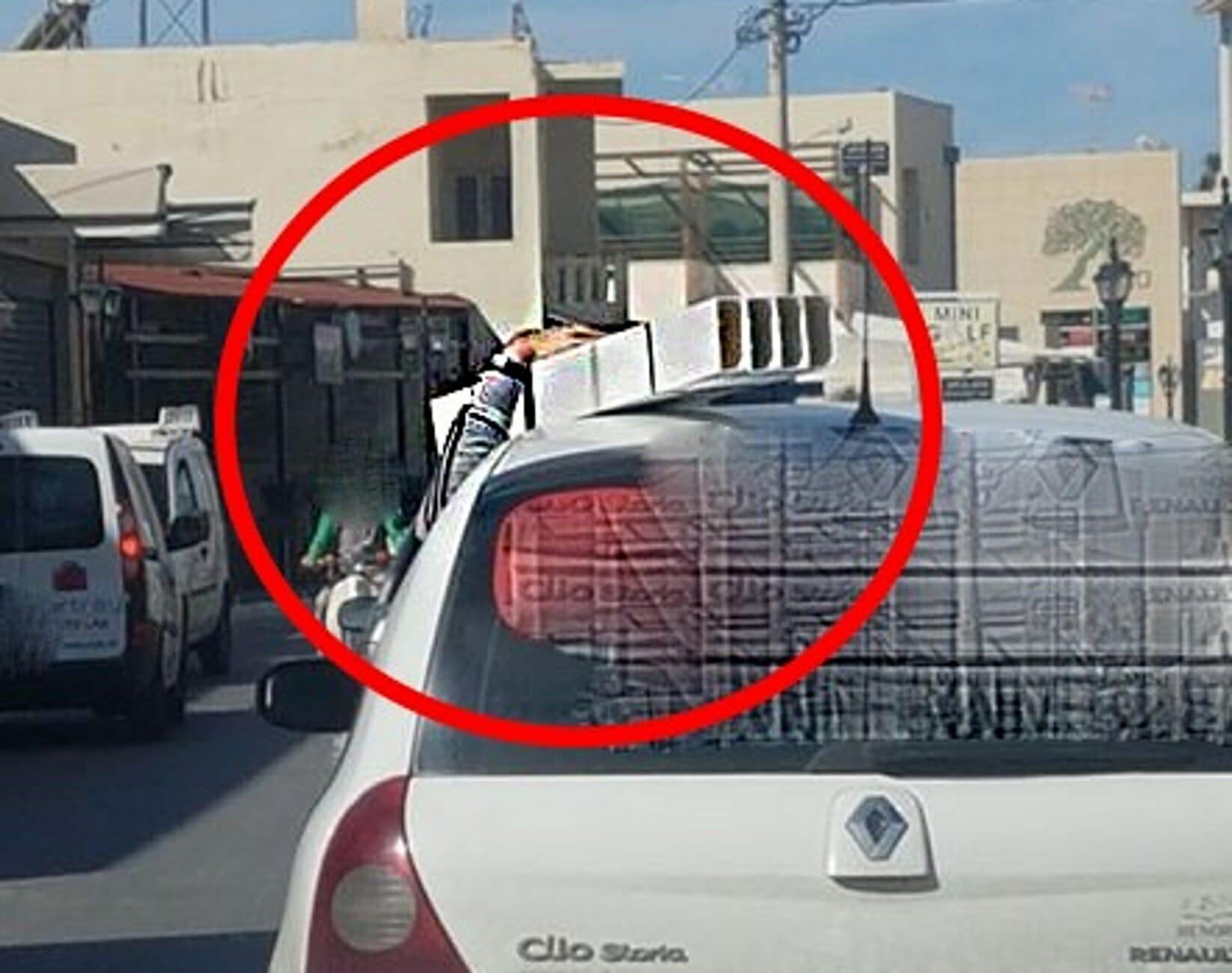 """Χανιά: Ο οδηγός το τερμάτισε και τους """"κούφανε""""! Προσπαθούσαν να πιστέψουν στα μάτια τους (Φωτό)"""