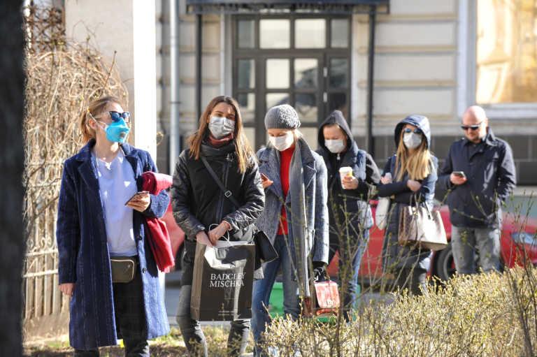 Ρωσία: 612 νεκροί και πάνω από 21.000 κρούσματα σε ένα 24ωρο