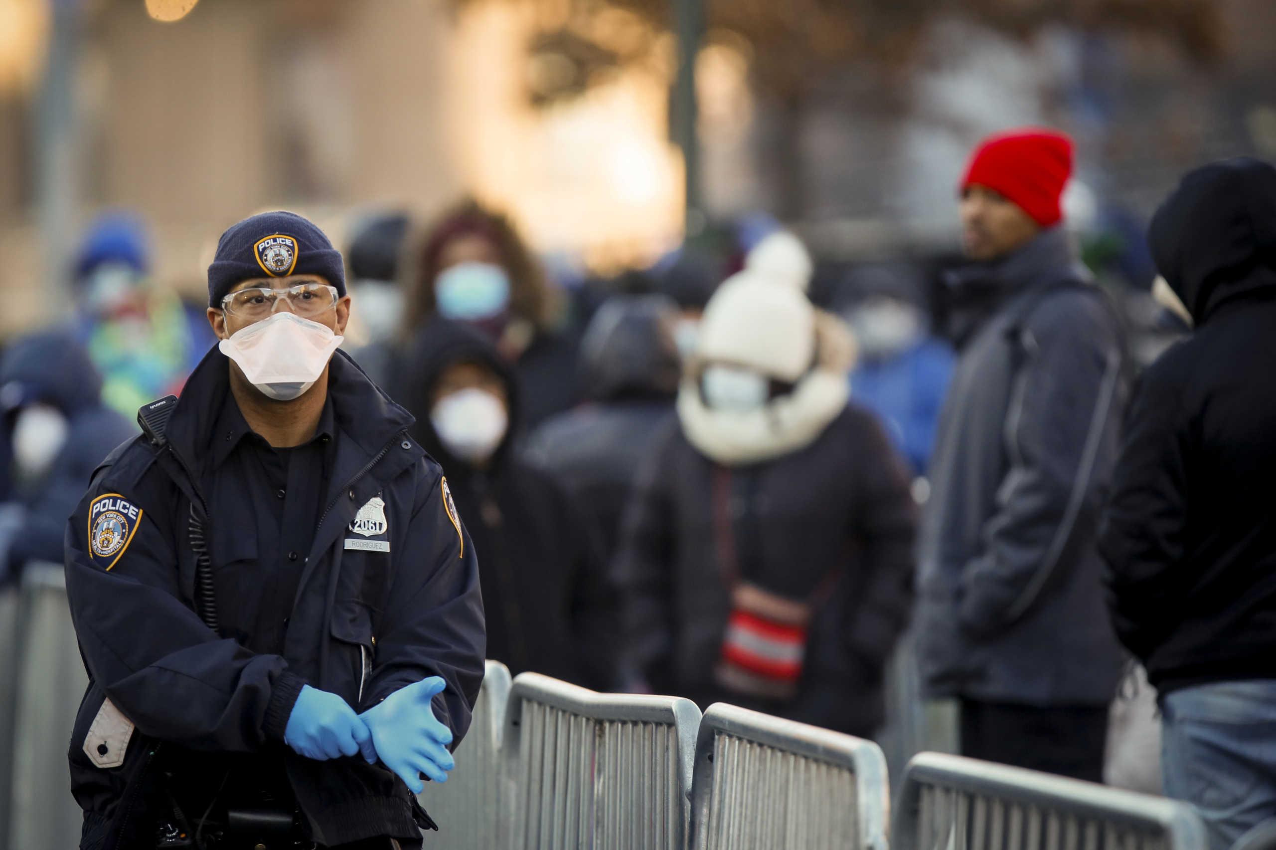 Θερίζει και στη Νέα Υόρκη ο κορονοϊός! 100 νεκροί σε μια ημέρα