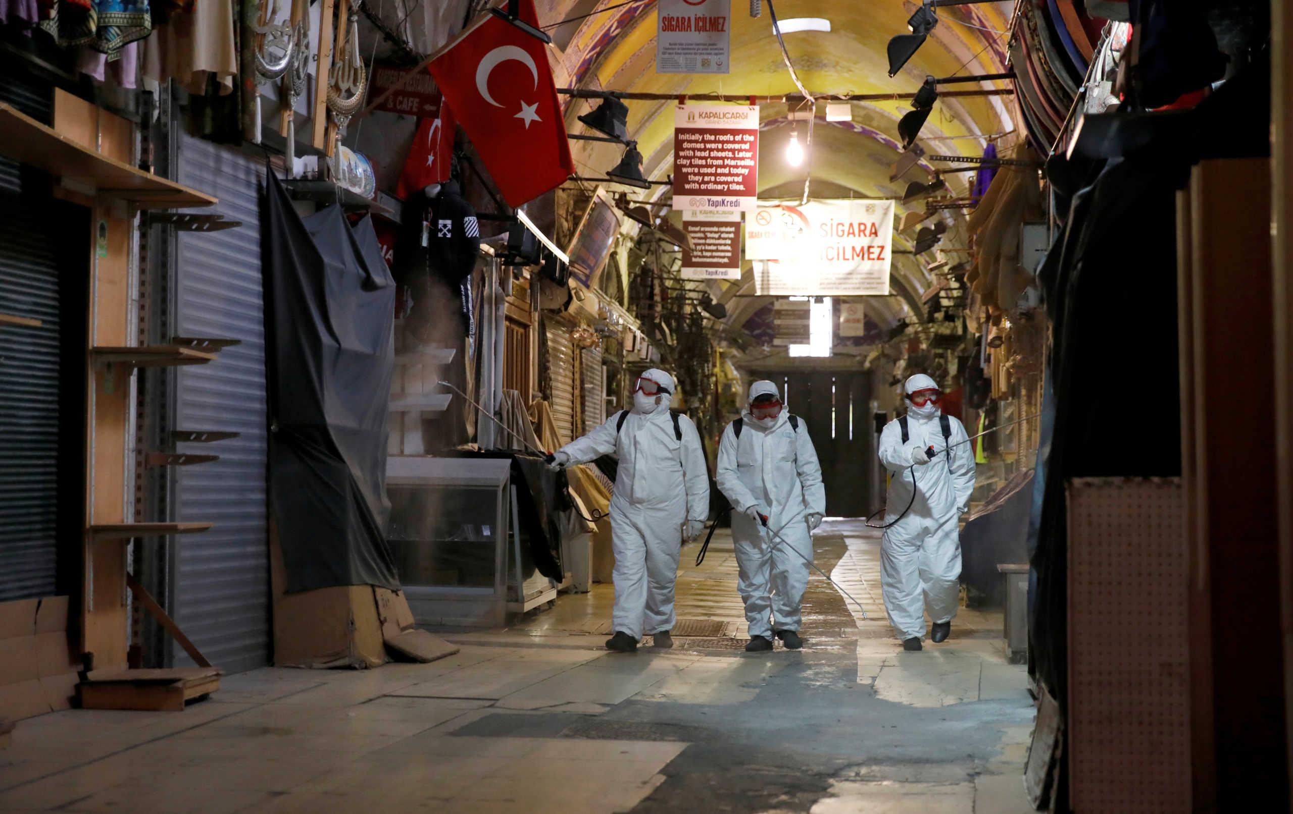 ''Θερίζει'' και στην Τουρκία ο κορονοϊός – 46 νέοι θάνατοι, συνολικά 214 οι νεκροί
