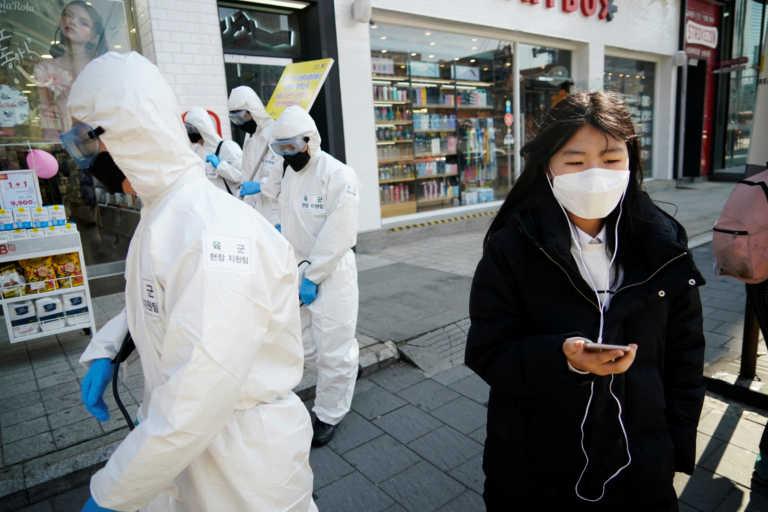 Νότια Κορέα: Πάνω από 500 κρούσματα για 2η συνεχόμενη μέρα –Φόβοι για κορεσμό των νοσοκομείων