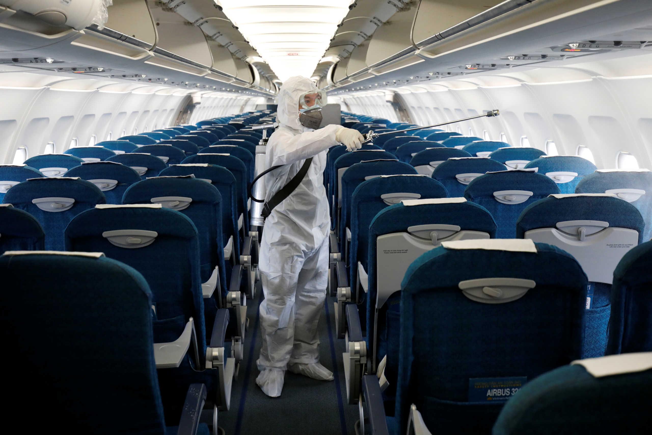 ''Γονατίζουν'' οι αεροπορικές εταιρίες από την επιδημία του κορονοϊού! Ταξιδεύουν άδεια τα αεροπλάνα