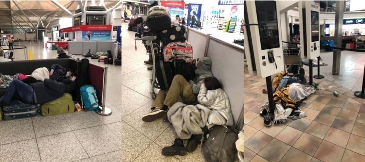 Συνεχίζεται η Οδύσσεια των Ελλήνων στο αεροδρόμιο Στάνστεντ – Τώρα τους απειλούν