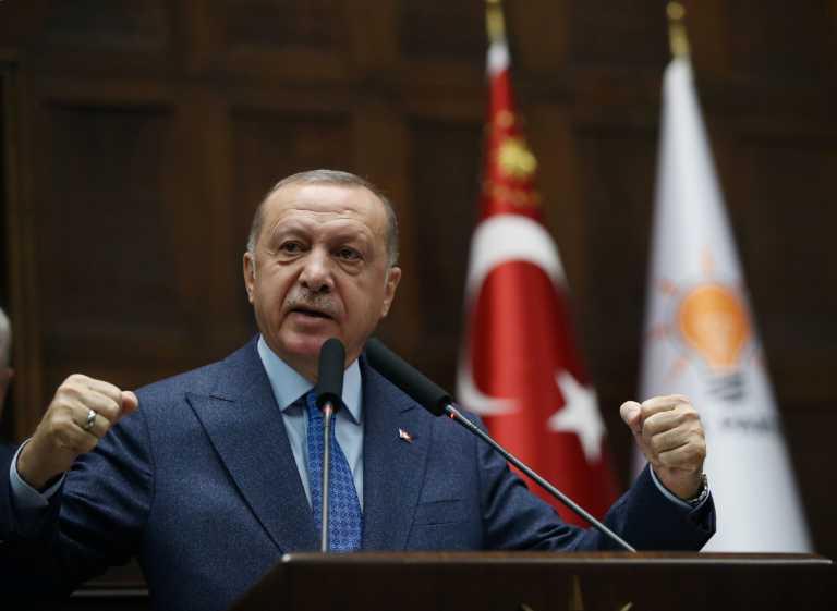 Ερντογάν: Θα προστατεύσουμε τα δικαιώματα μας σε Ανατολική Μεσόγειο, Λιβύη και Αιγαίο