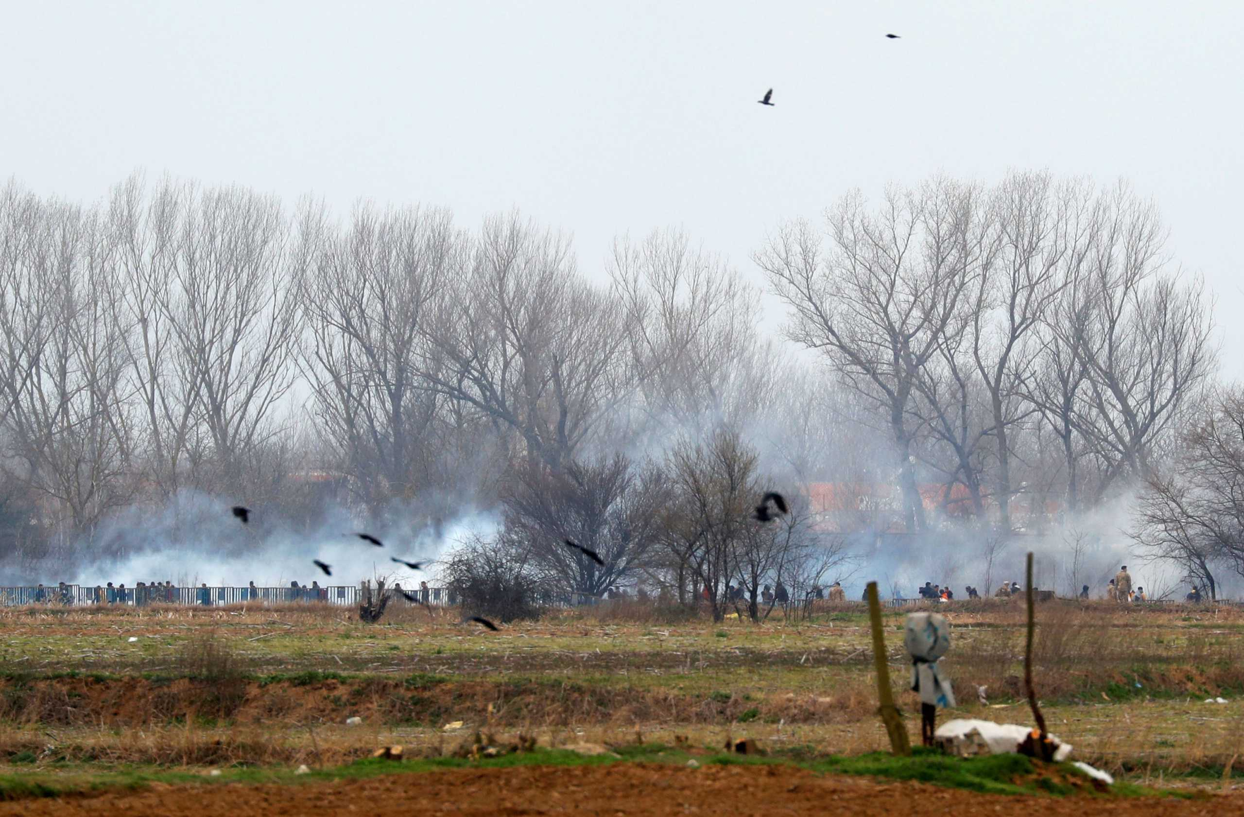 Έβρος: Νέα επεισόδια στις Καστανιές! Μάχες μπροστά στην κάμερα (Βίντεο)