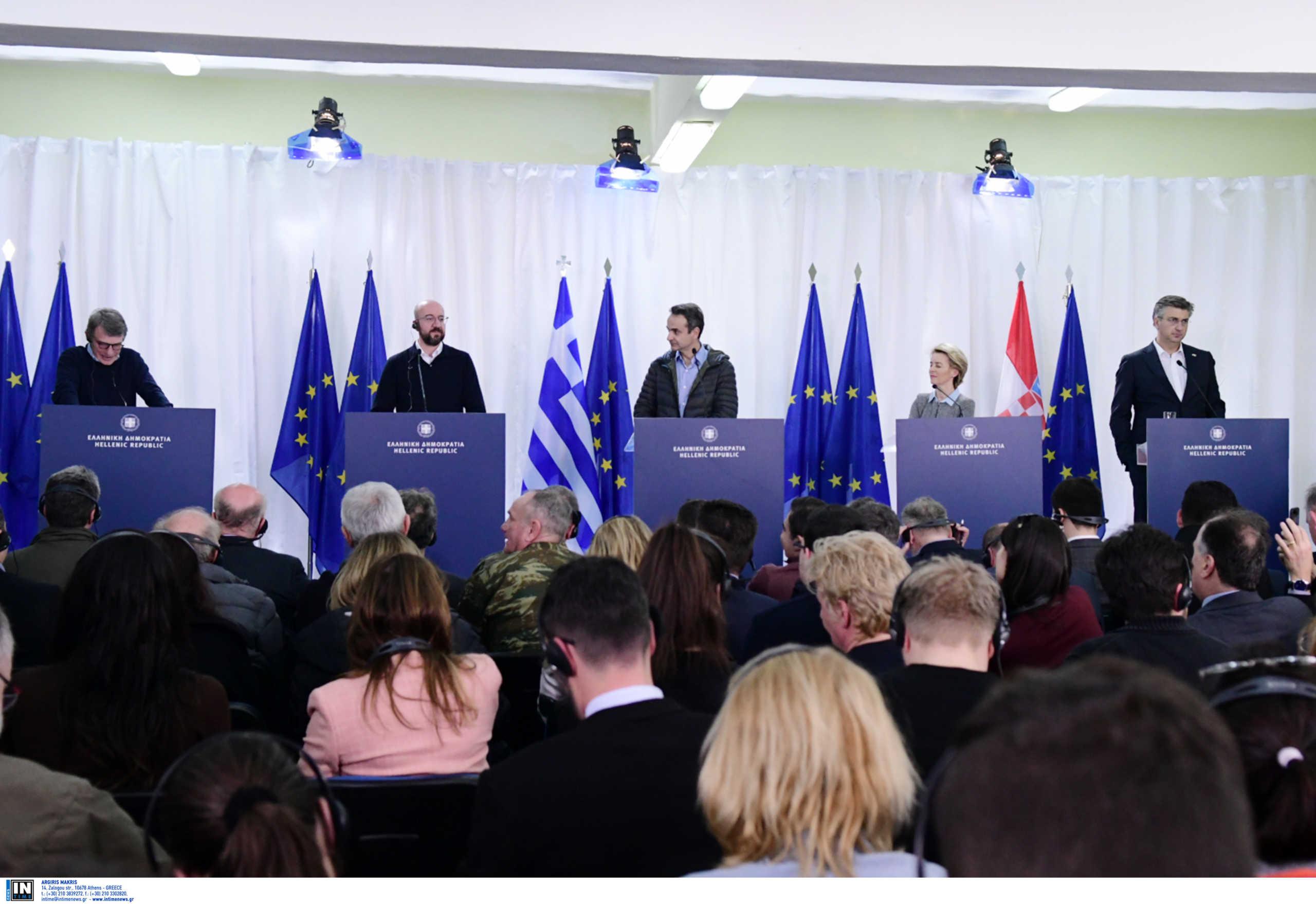 Ευρωπαϊκή Ένωση: Τα πρώτα μέτρα για την ενίσχυση φύλαξης των συνόρων στην Ελλάδα