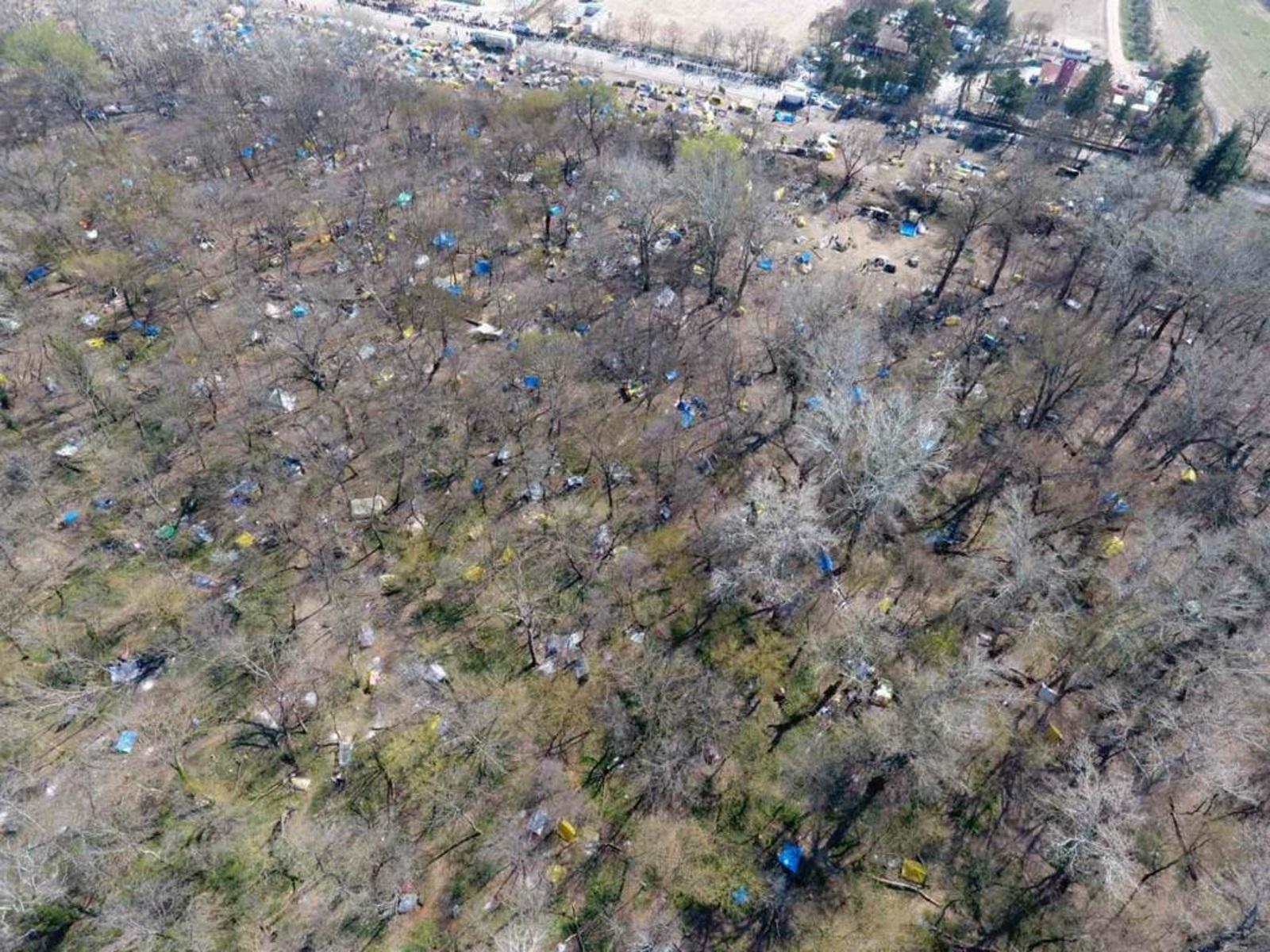 Τεράστια οικολογική καταστροφή στις Καστανιές (pics)