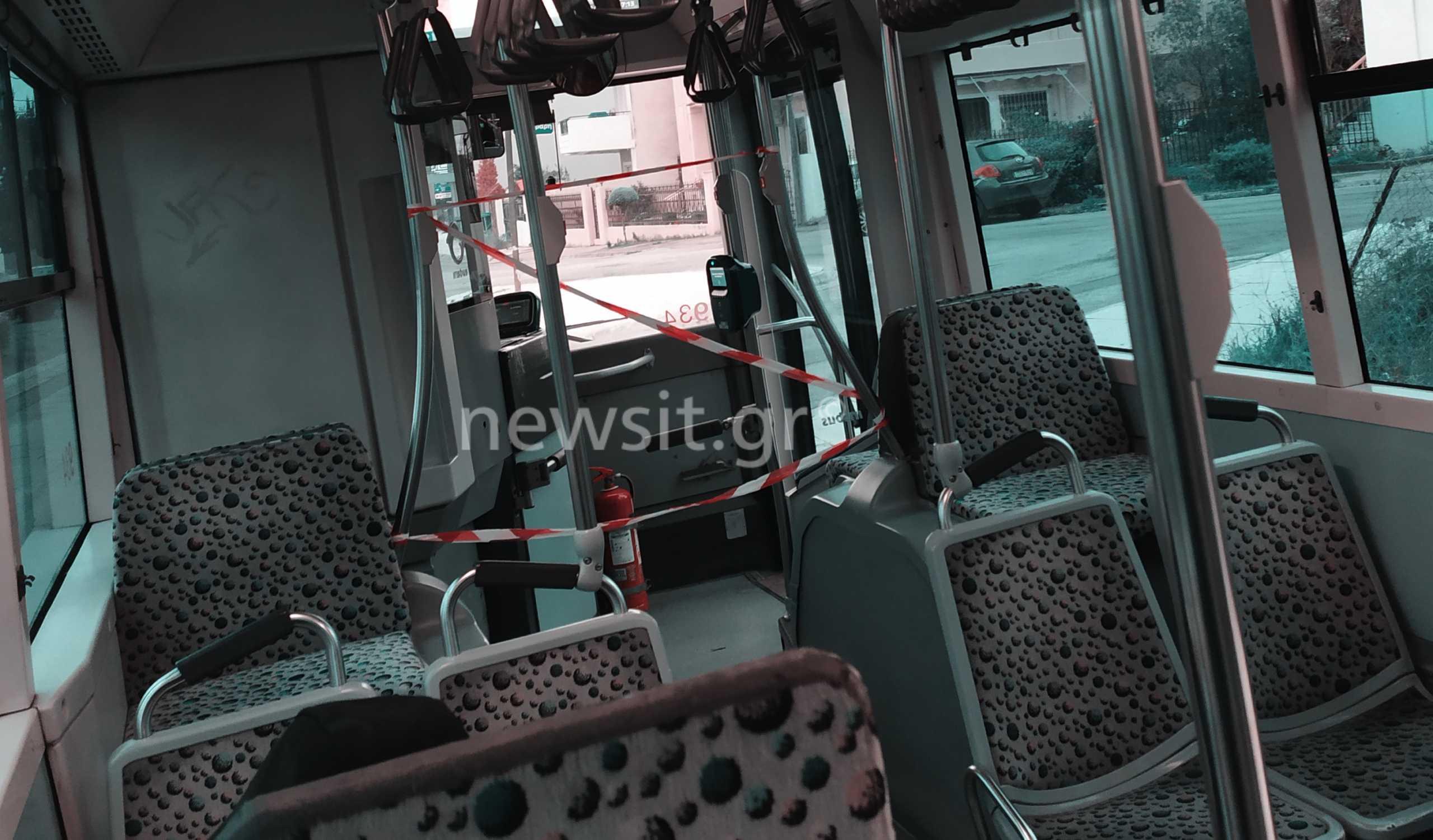 Κορονοϊός: Η πατέντα του οδηγού λεωφορείου για να προστατευθεί