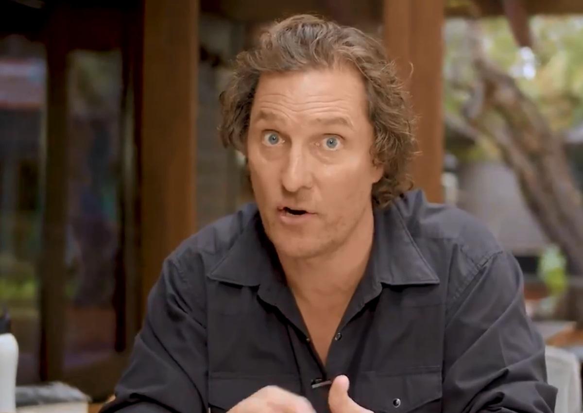 Matthew McConaughey: Μας βοηθά να ξεπεράσουμε το στρες στις μέρες του κορονοϊού!