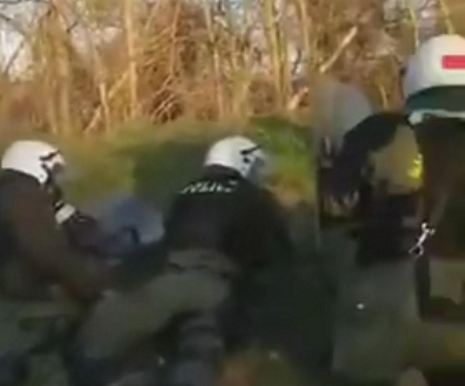 Έβρος: Βίντεο ντοκουμέντο με επίθεση σε άντρες των ΜΑΤ! Η στιγμή που ακούγονται πυροβολισμοί